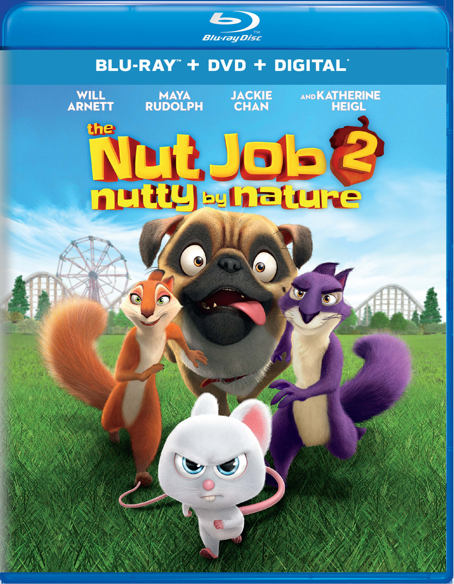 The Nut Job 2: Nutty By Nature (DVD + Digital) [Blu-ray]