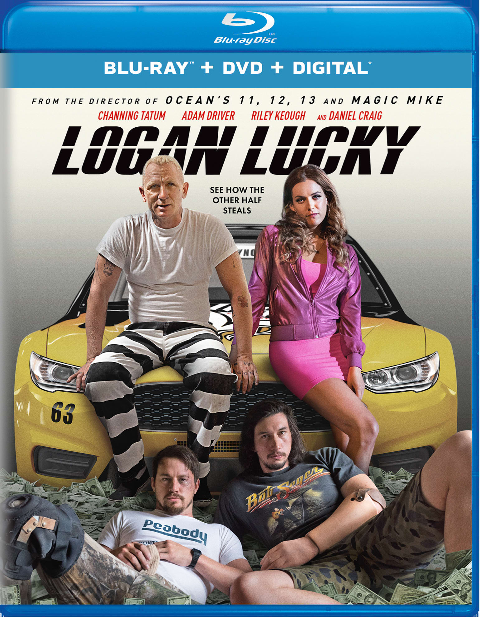Logan Lucky (DVD + Digital) [Blu-ray]
