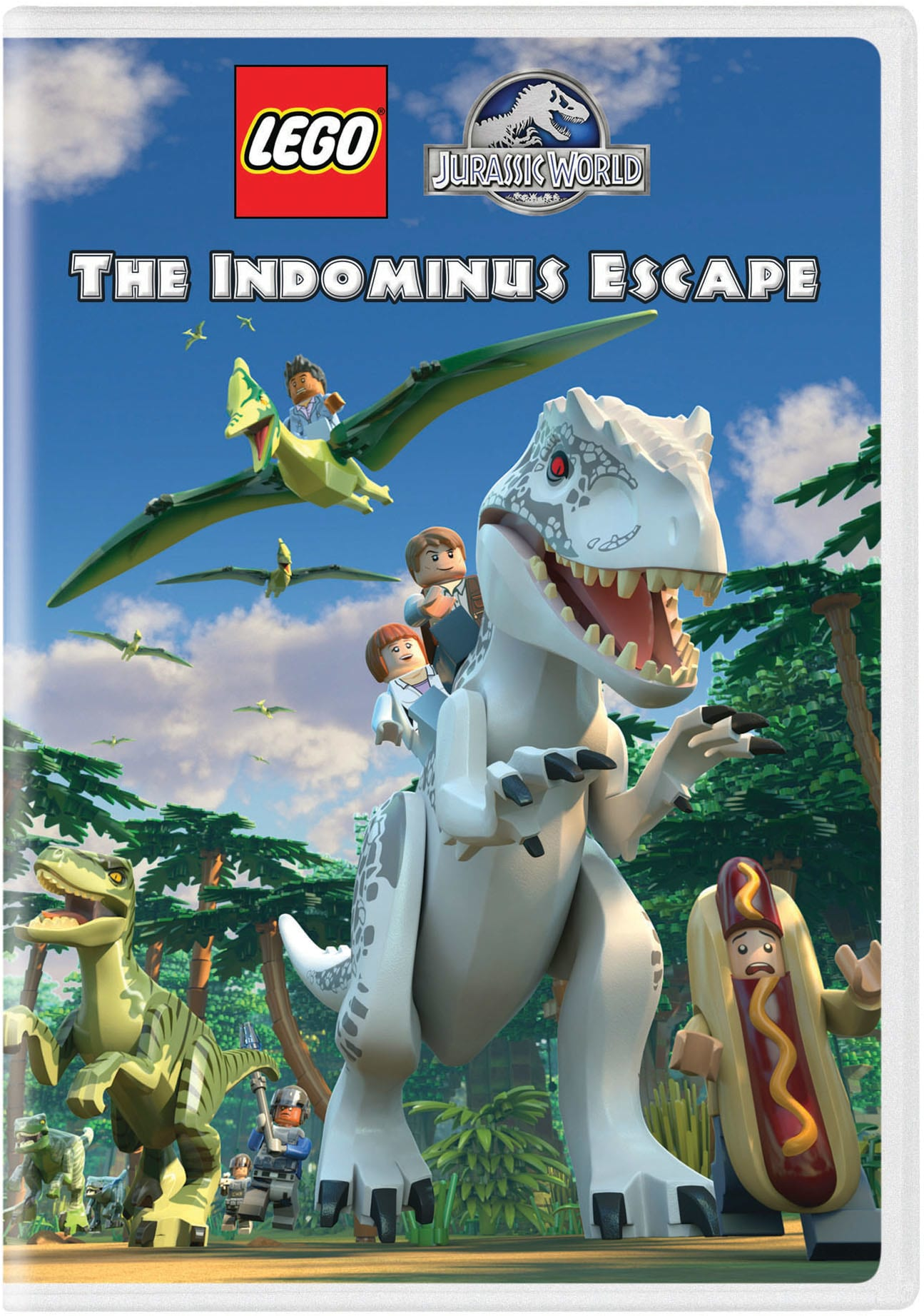 LEGO Jurassic World: The Indominus Escape [DVD]