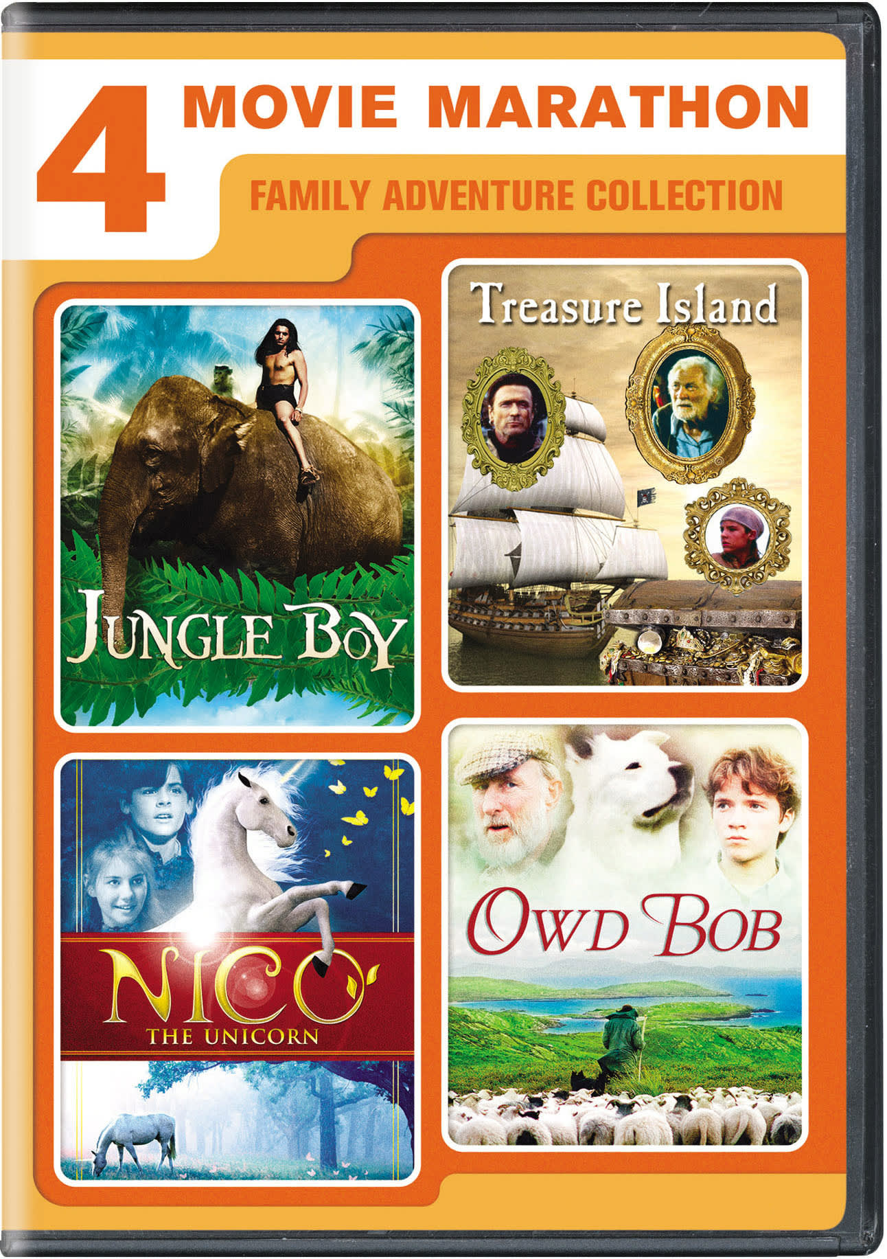 4-movie marathon: Family adventure collection [DVD]