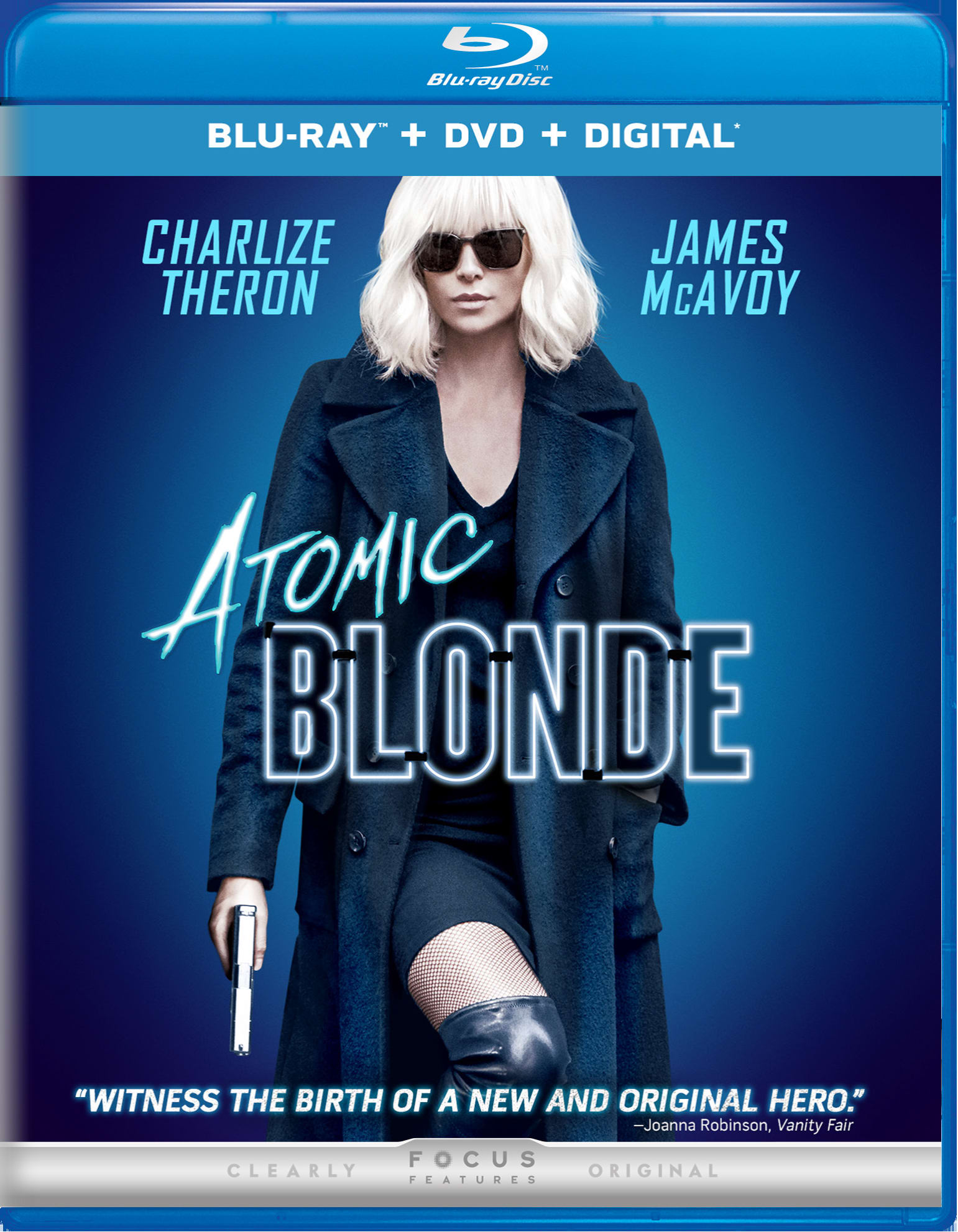 Atomic Blonde (DVD + Digital) [Blu-ray]