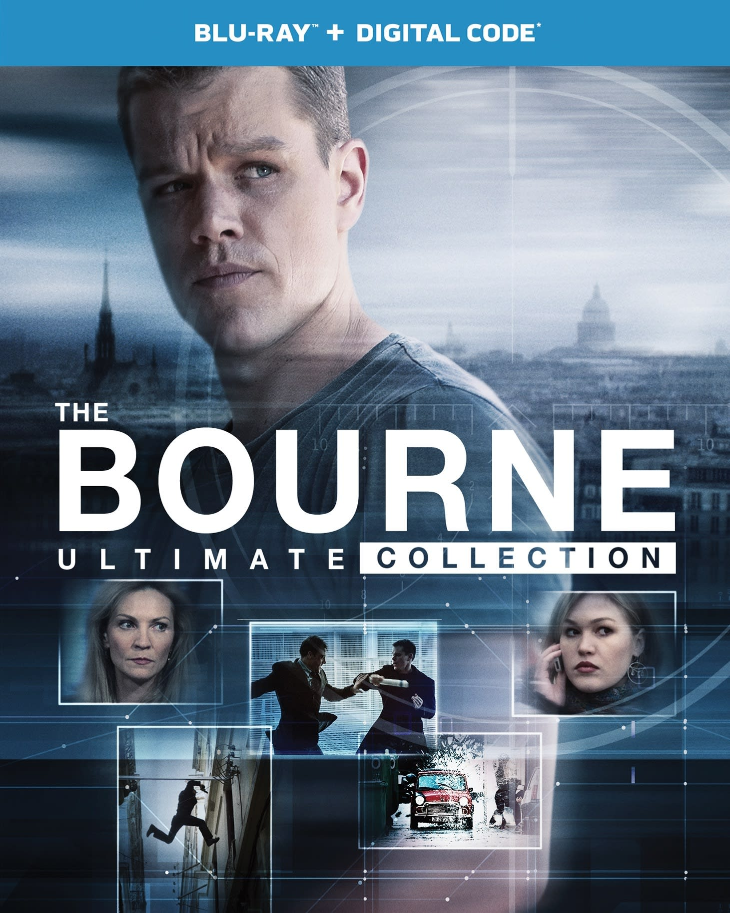 Bourne: The Ultimate 5-movie Collection [Blu-ray]