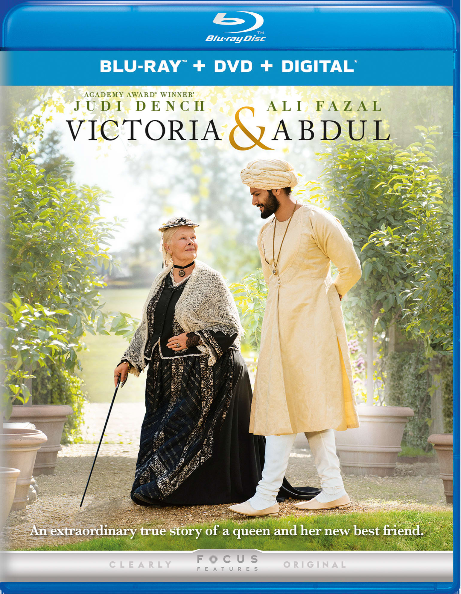 Victoria and Abdul (DVD + Digital) [Blu-ray]