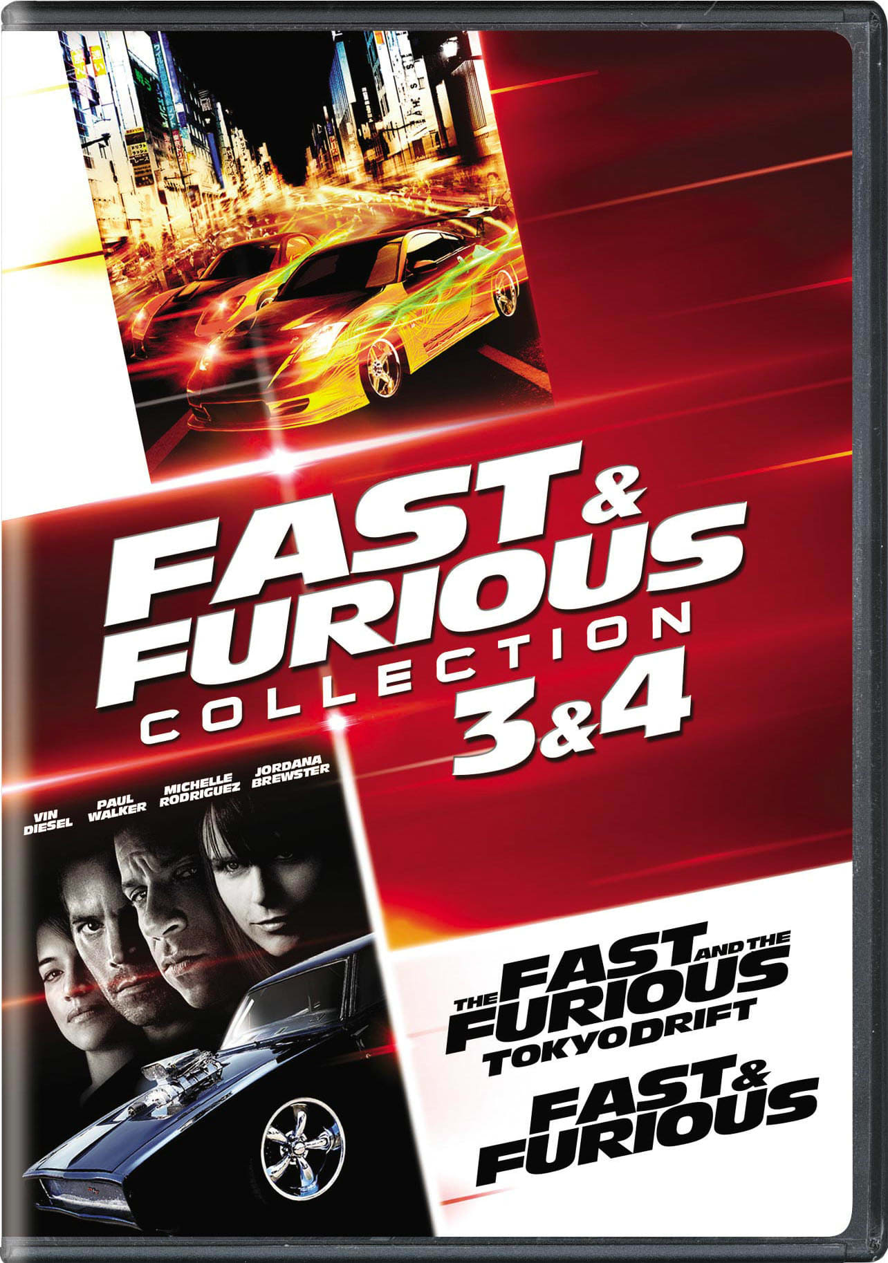 Fast & Furious Collection: 3 & 4 [DVD]