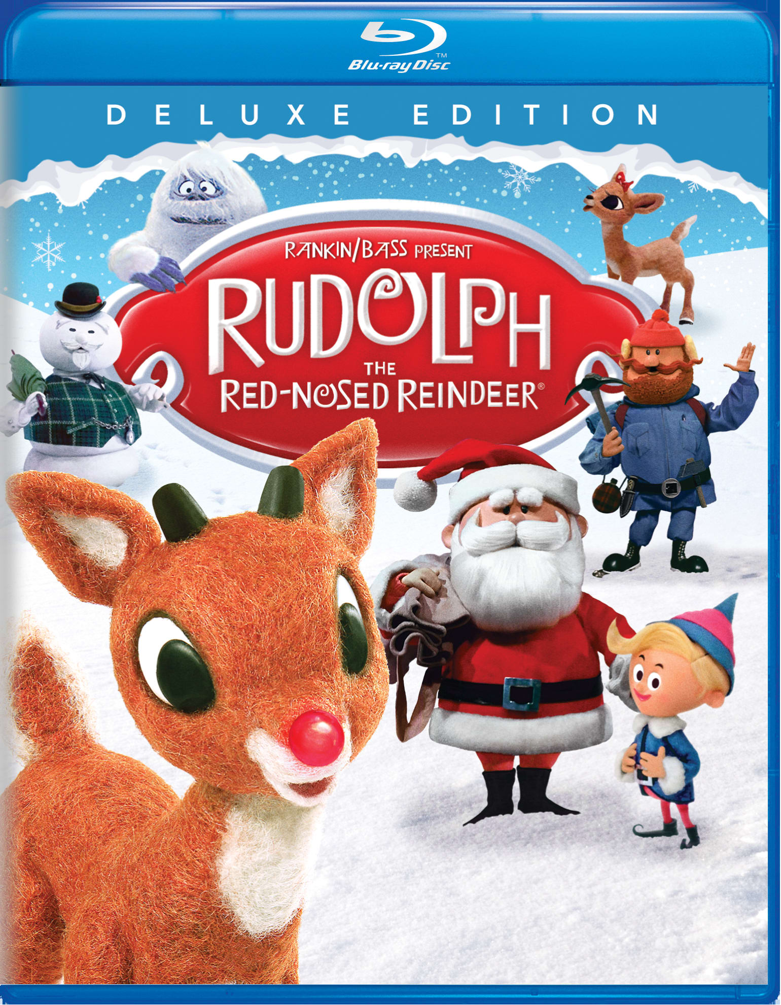 Rudolph the Red-nosed Reindeer (Deluxe Edition) [Blu-ray]