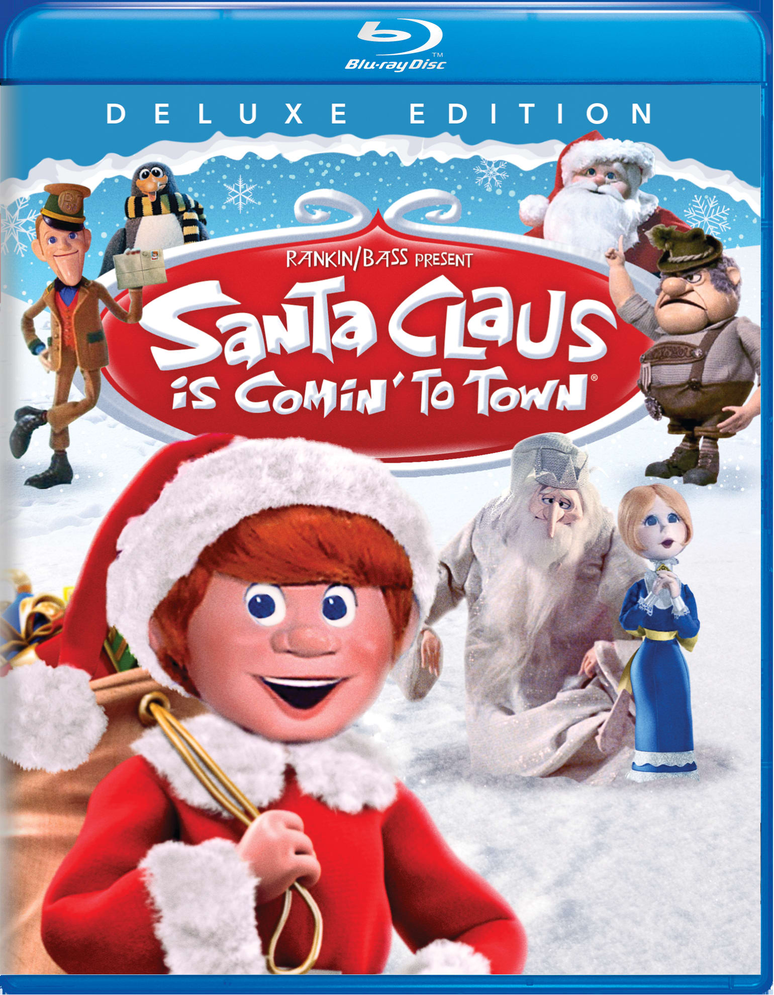 Santa Claus Is Comin' to Town (Deluxe Edition) [Blu-ray]