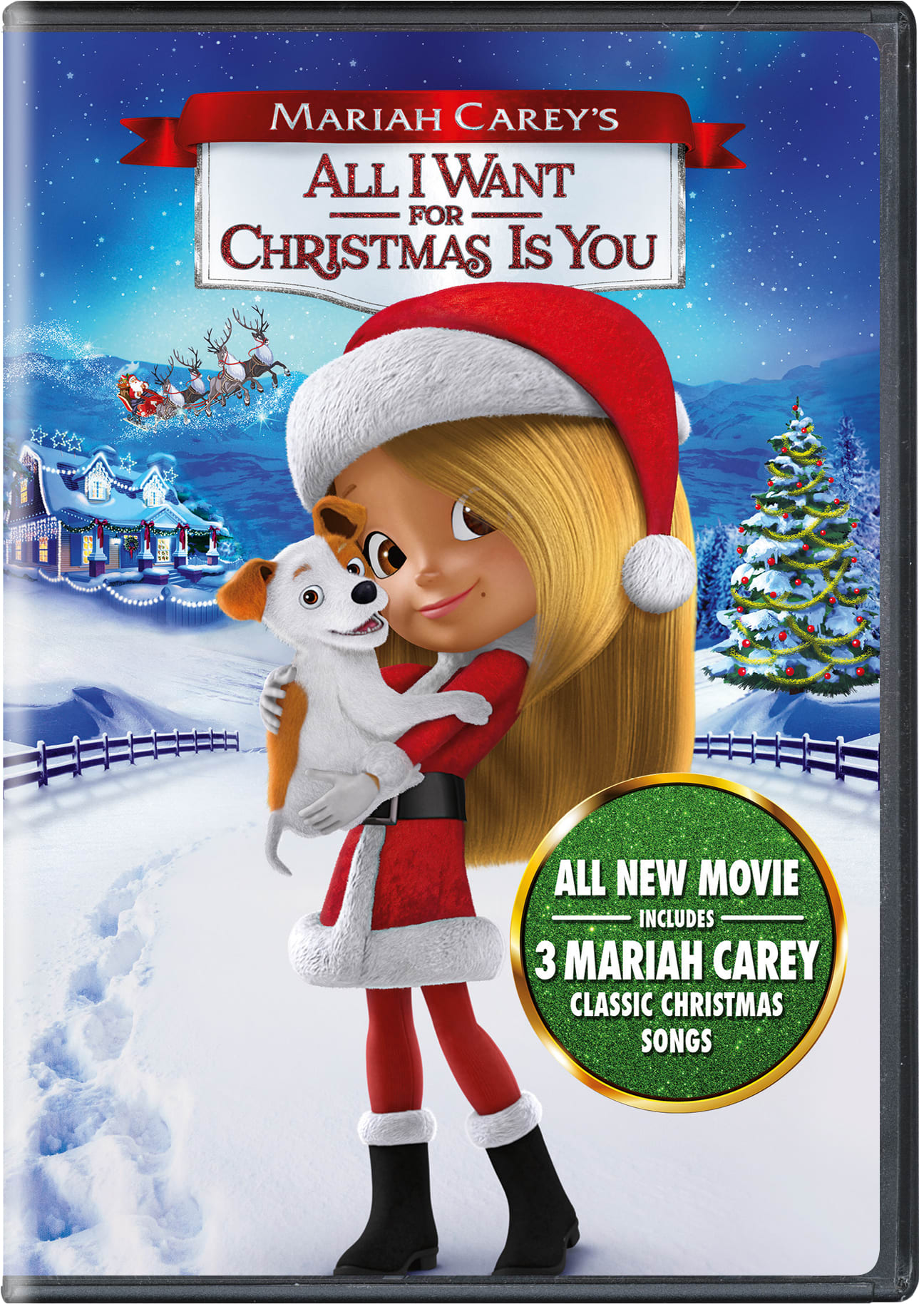 Mariah Carey's All I Want for Christmas Is You [DVD]