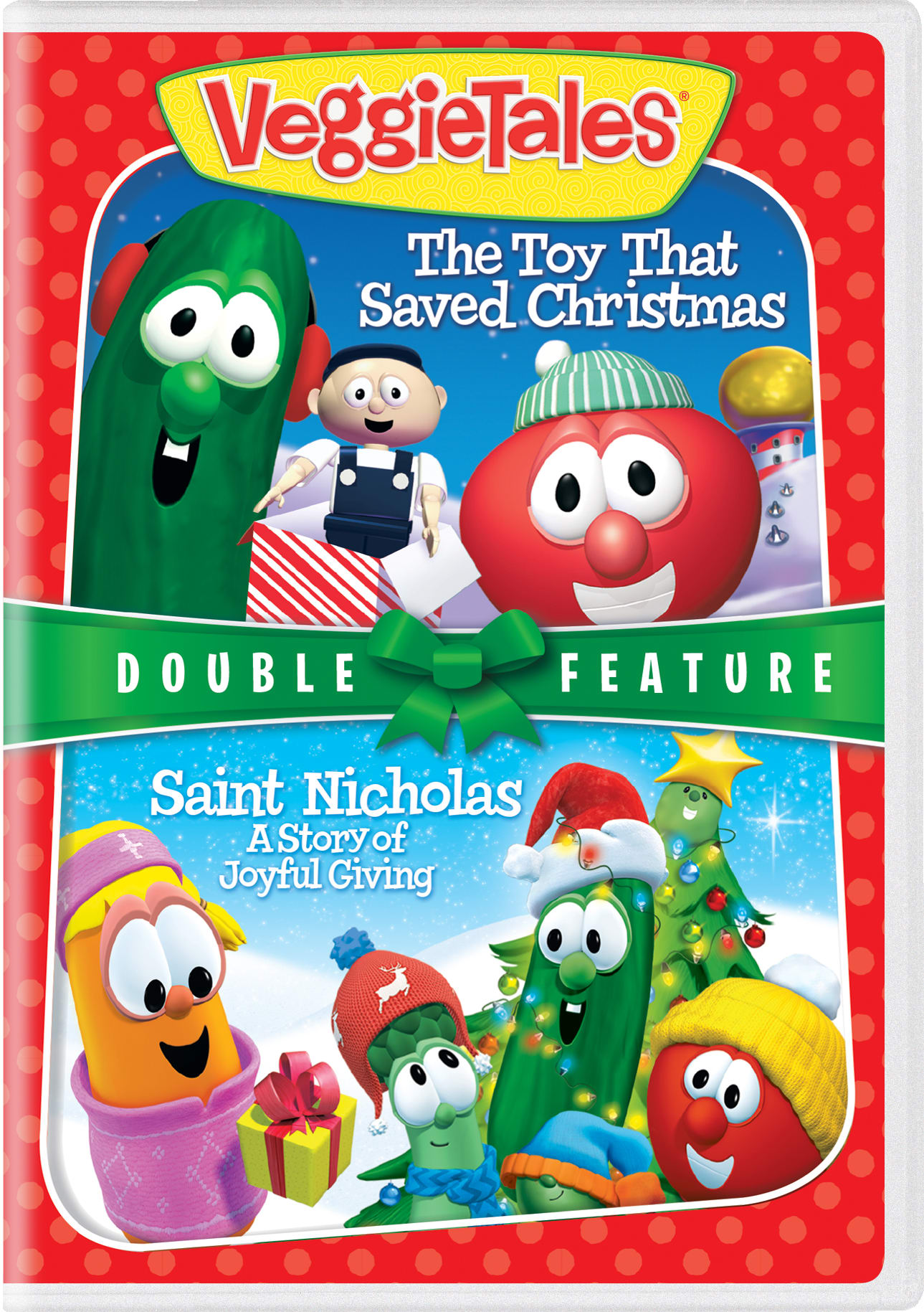 VeggieTales: The Toy That Saved Christmas/Saint Nicholas:... [DVD]