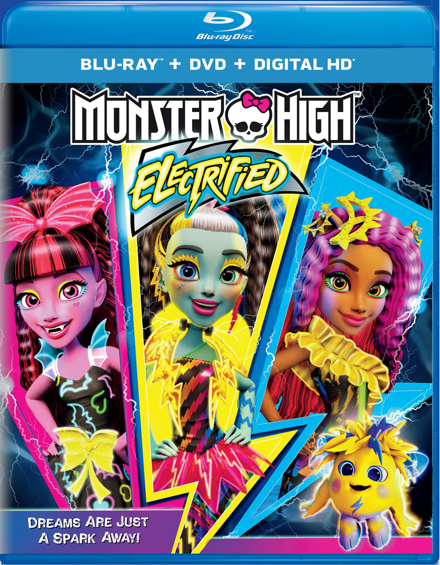 Monster High: Electrified (DVD + Digital) [Blu-ray]