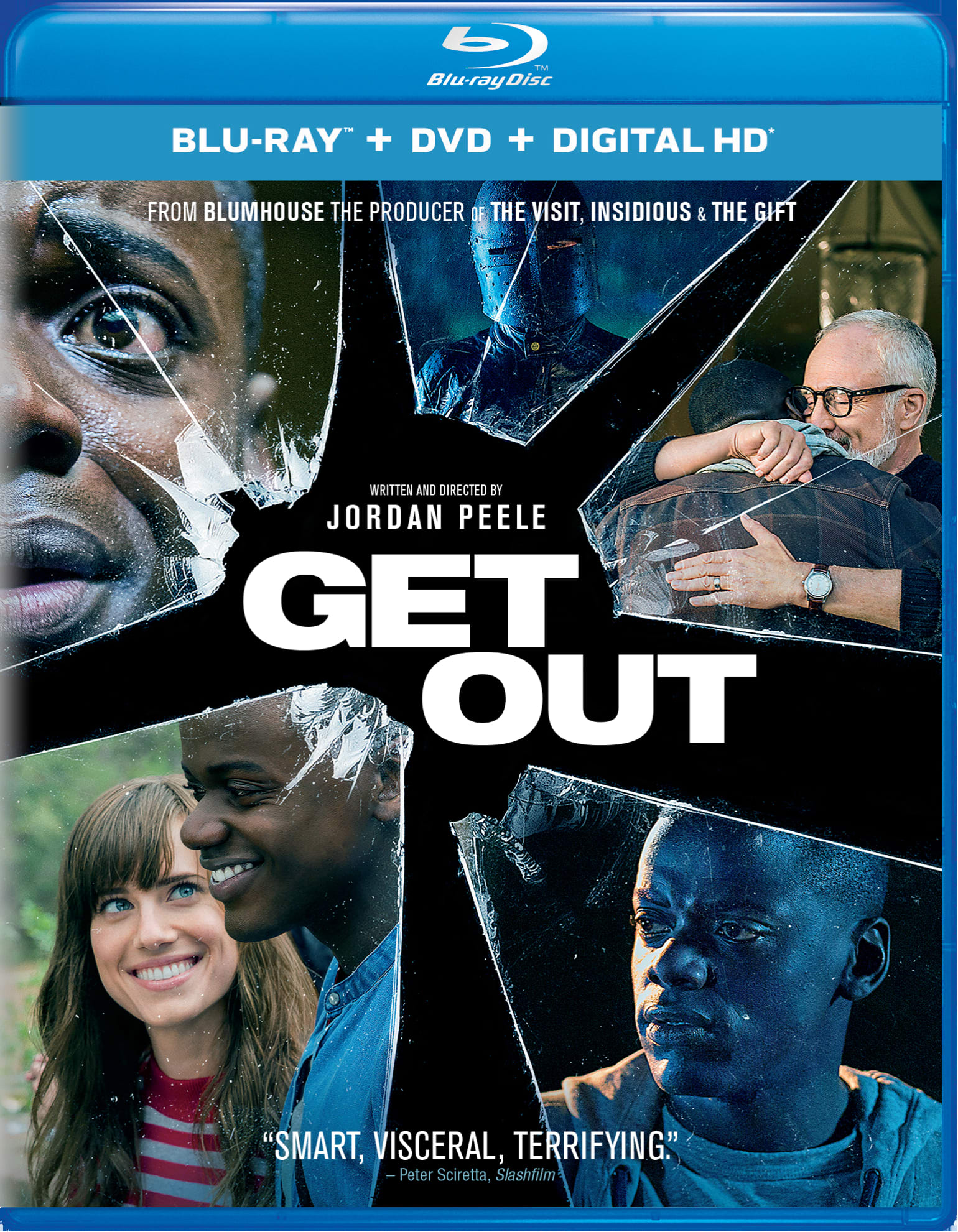 Get Out (DVD + Digital) [Blu-ray]