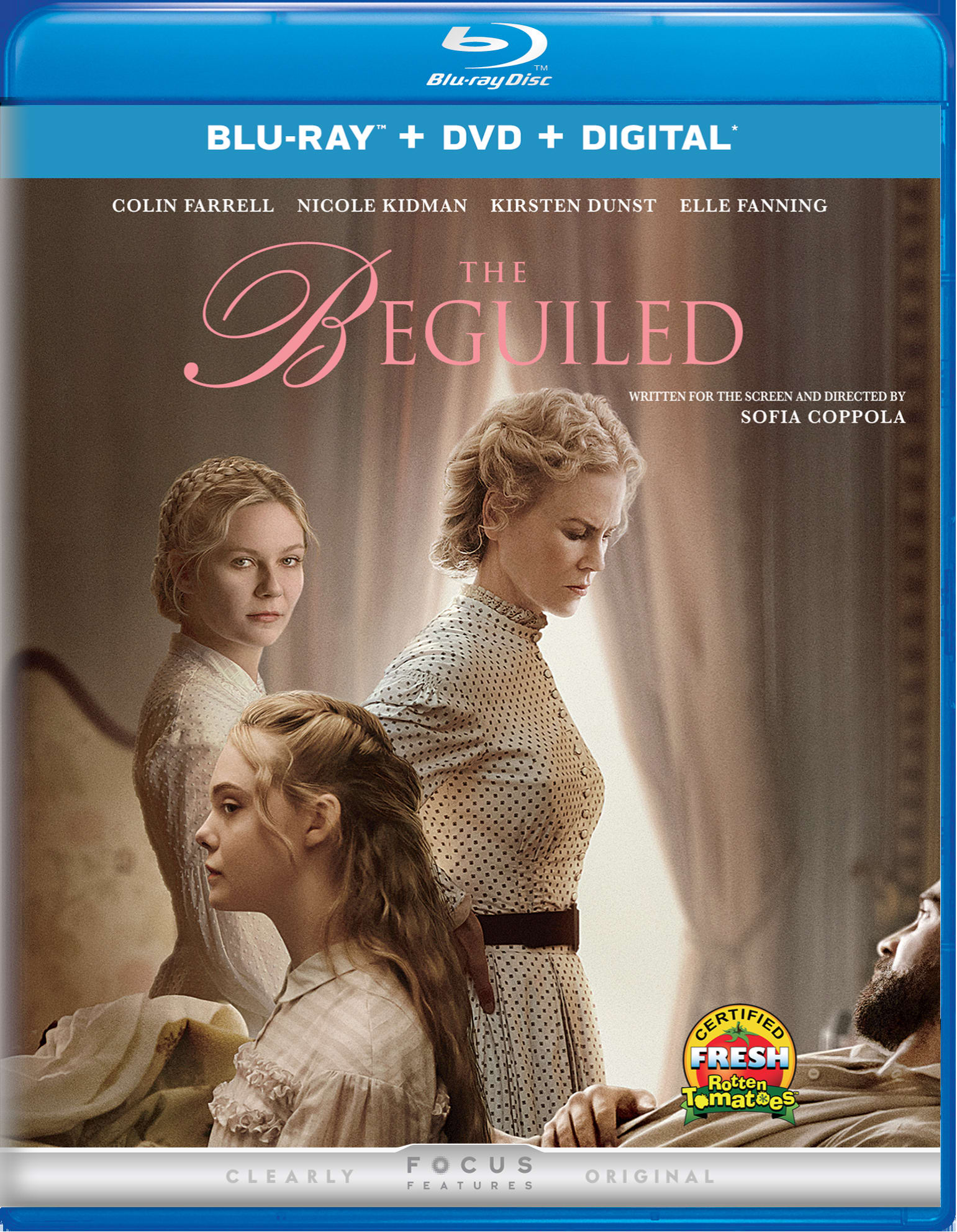 The Beguiled (2017) (DVD + Digital) [Blu-ray]