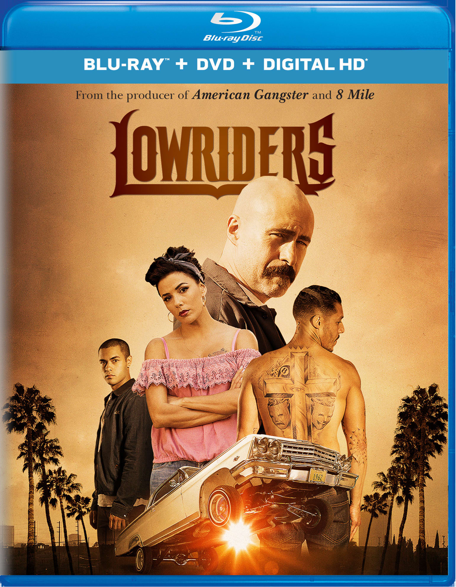 Lowriders (DVD + Digital) [Blu-ray]