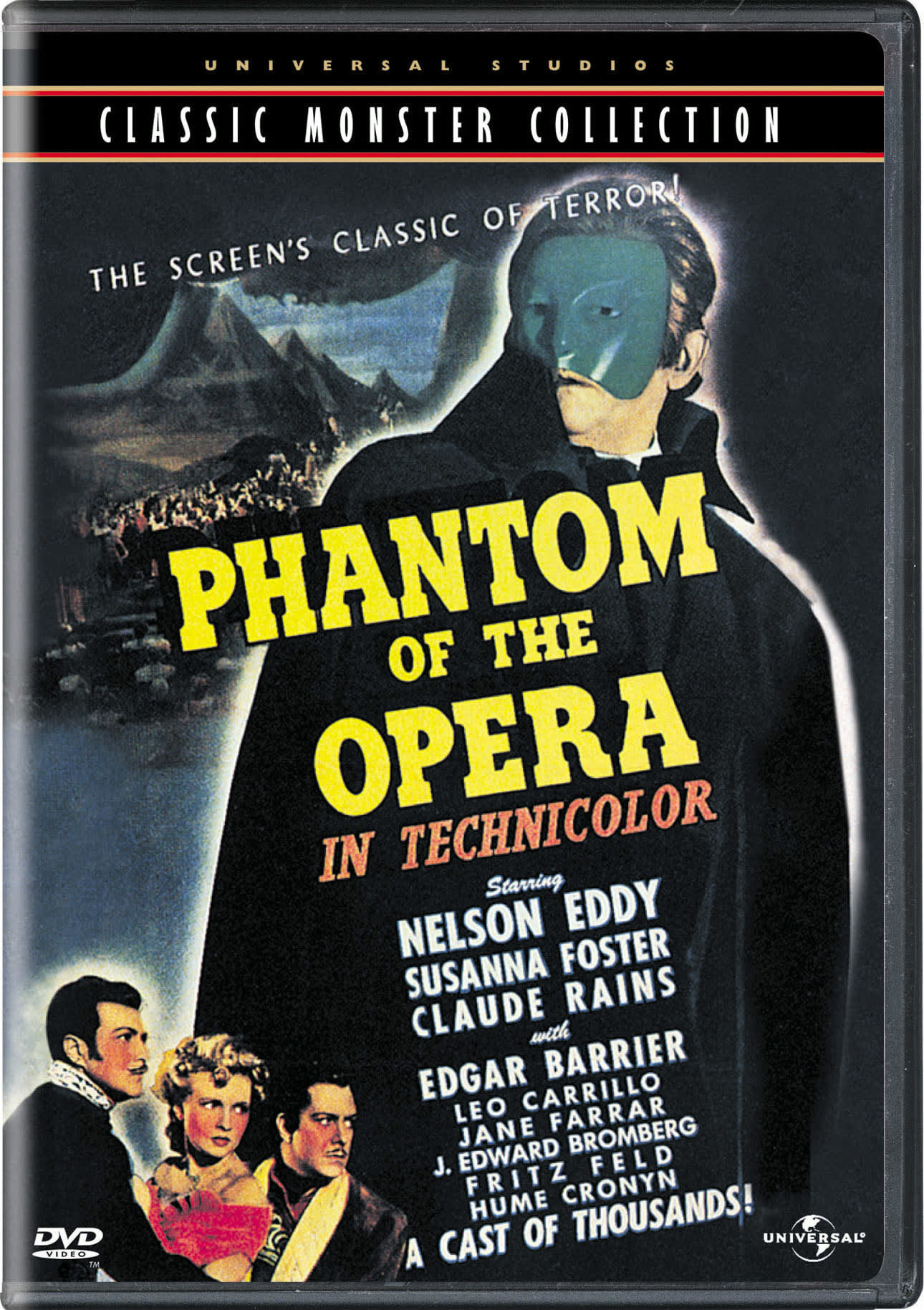 The Phantom of the Opera (1943) (Universal Classic Monster Collection) [DVD]