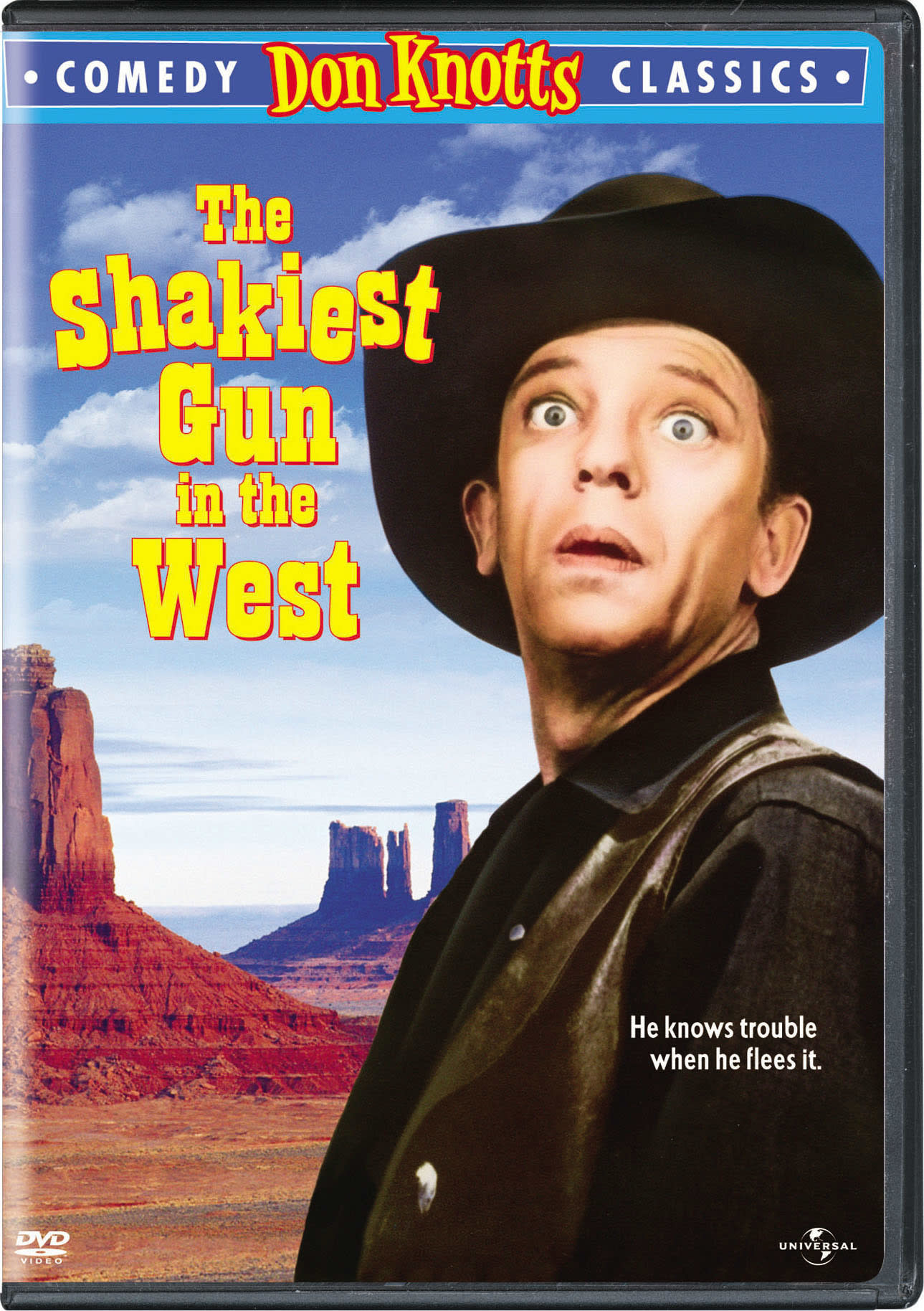 The Shakiest Gun in the West [DVD]