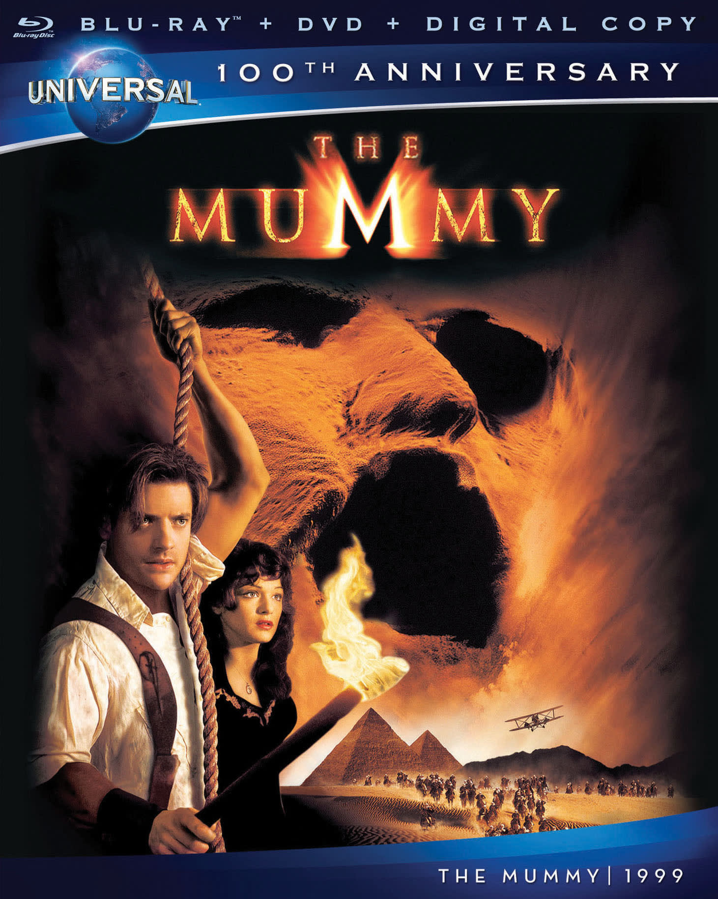 The Mummy (1999) (DVD + Digital) [Blu-ray]