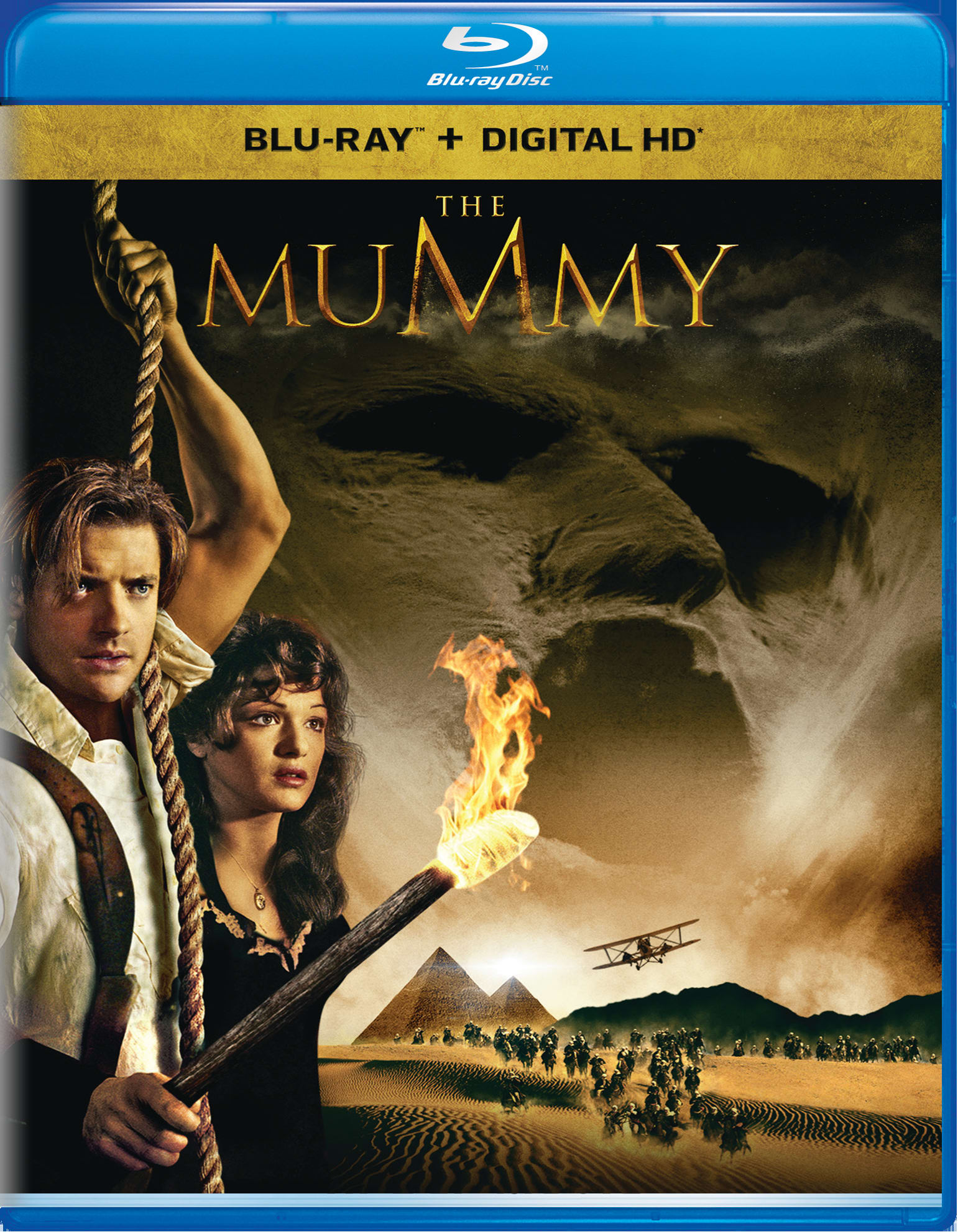The Mummy (1999) (Digital) [Blu-ray]