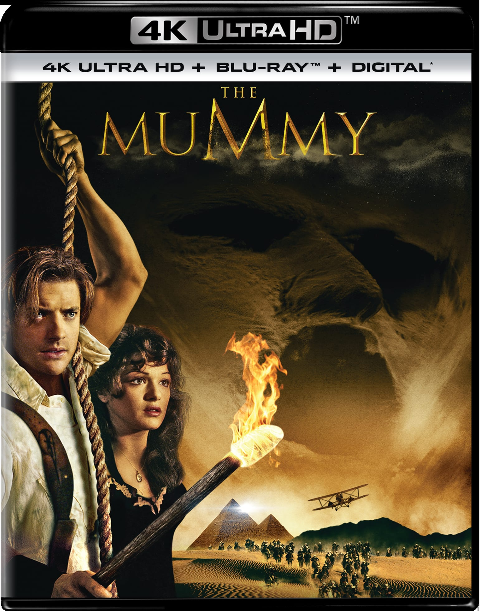 The Mummy (1999) (4K Ultra HD + Digital) [UHD]
