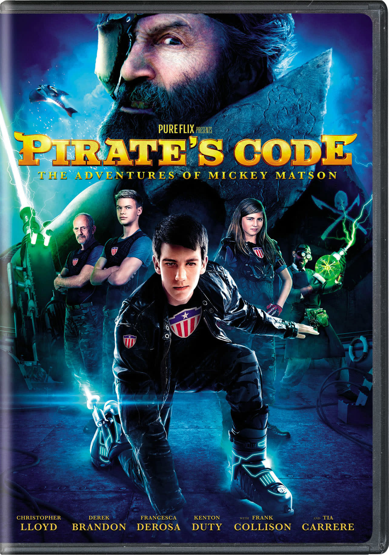 Pirate's Code: The Adventures of Mickey Matson [DVD]