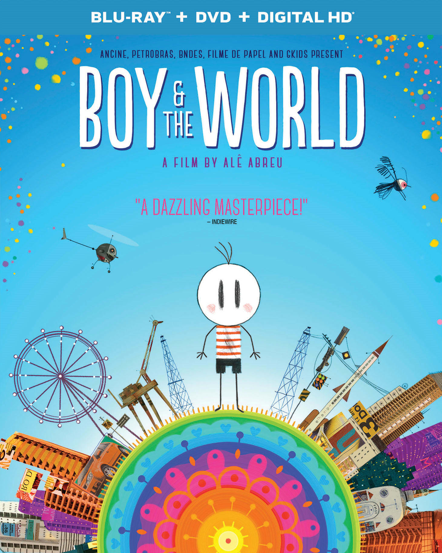 Boy and the World (DVD + Digital) [Blu-ray]