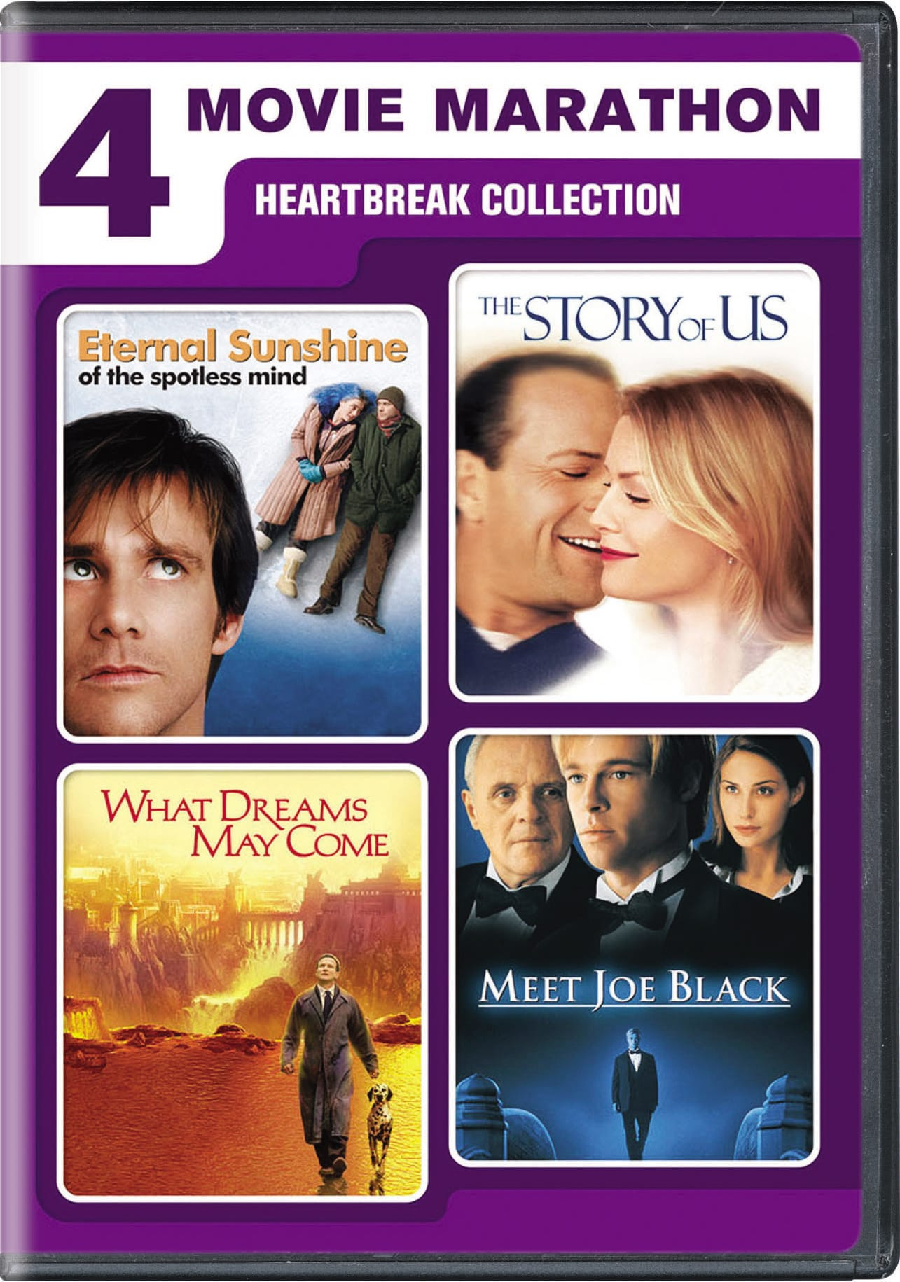 4-Movie Marathon: Heartbreak Collection [DVD]