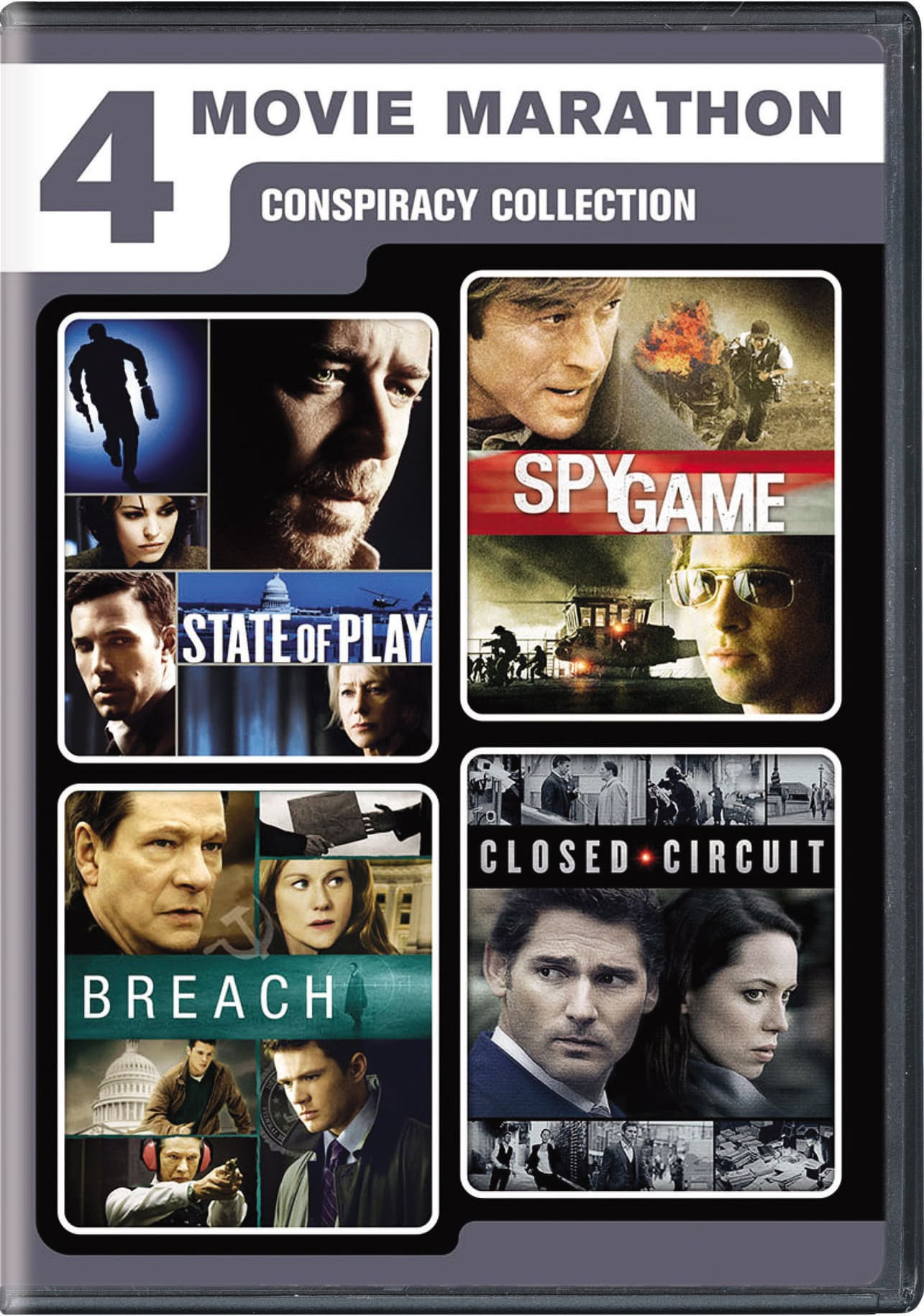 4-Movie Marathon: Conspiracy Collection [DVD]