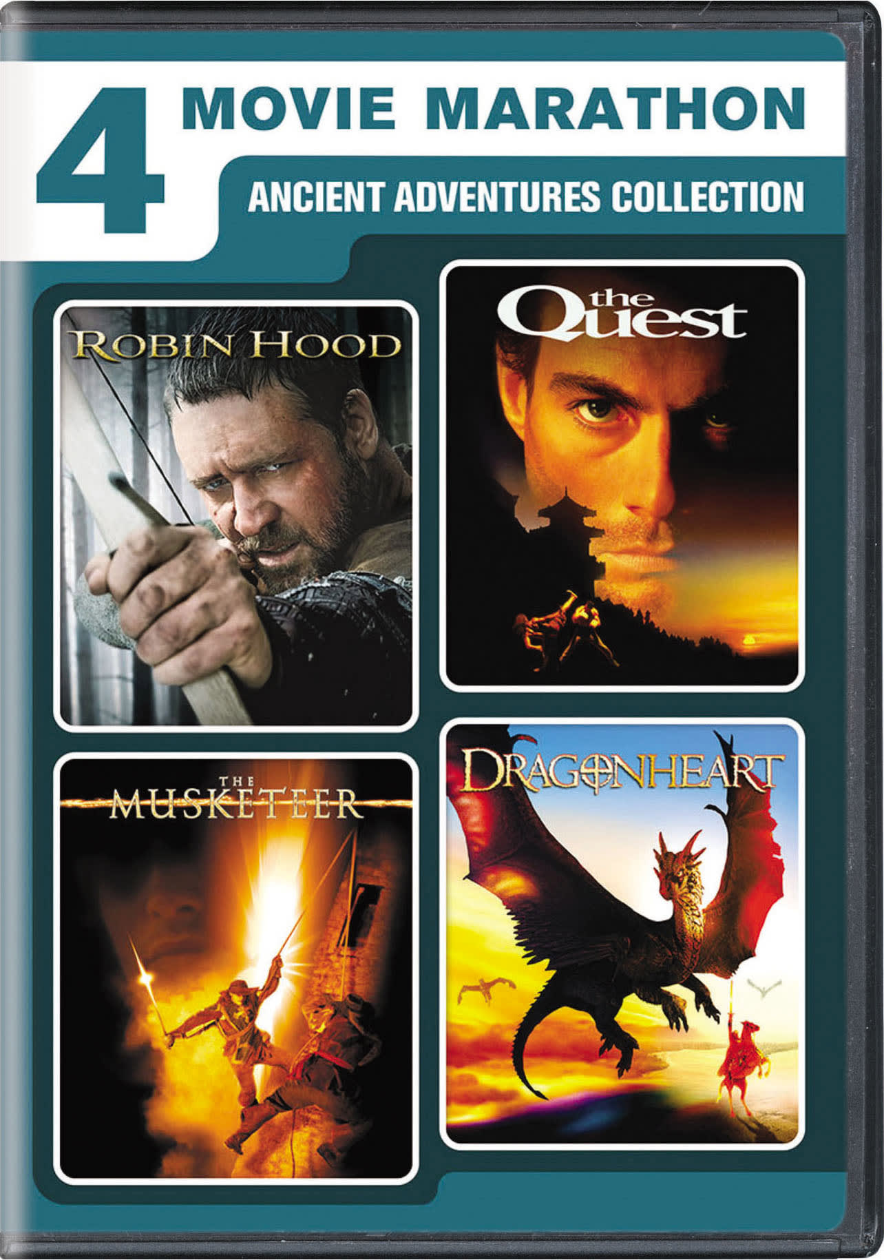 4-Movie Marathon: Ancient Adventure Collection [DVD]