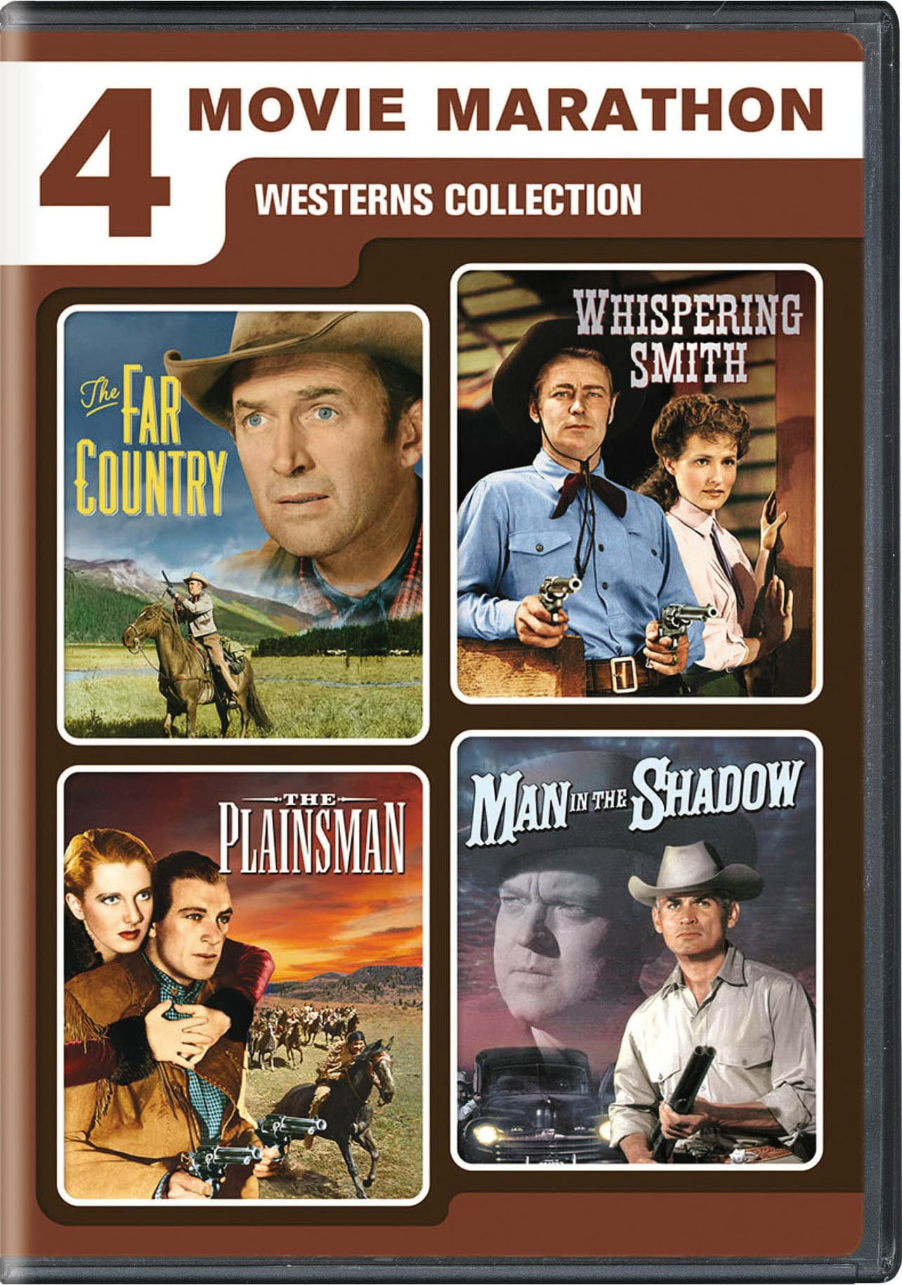 4-Movie Marathon: Westerns Collection [DVD]