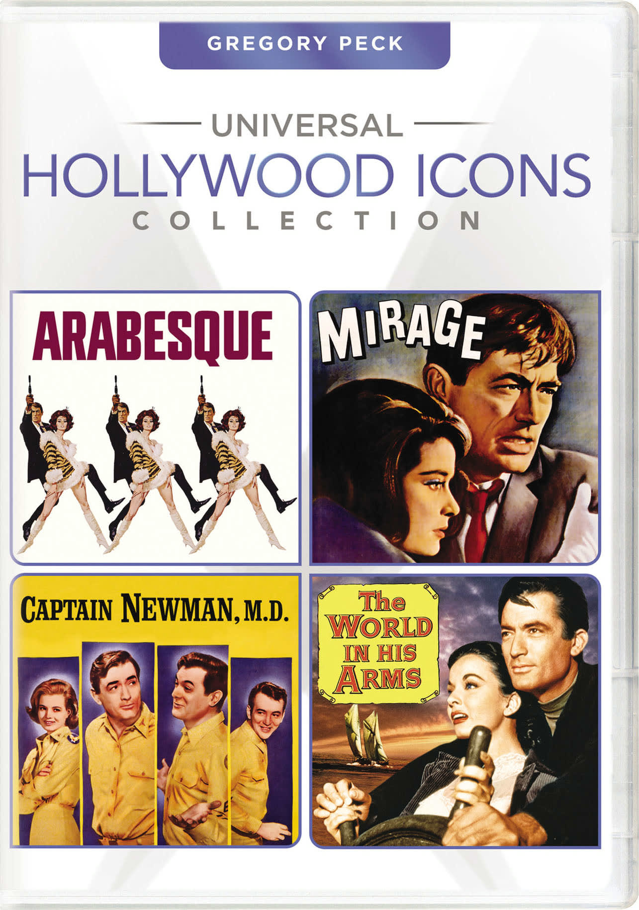Universal Hollywood Icons Collection: Gregory Peck [DVD]