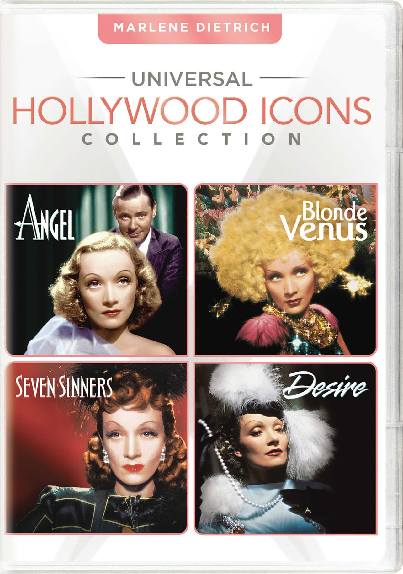 Universal Hollywood Icons Collection: Marlene Dietrich [DVD]