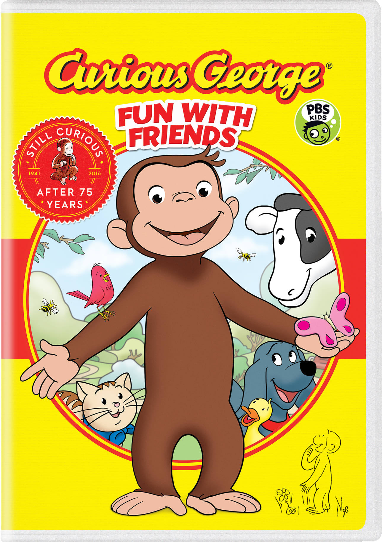 Curious George: Fun With Friends [DVD]