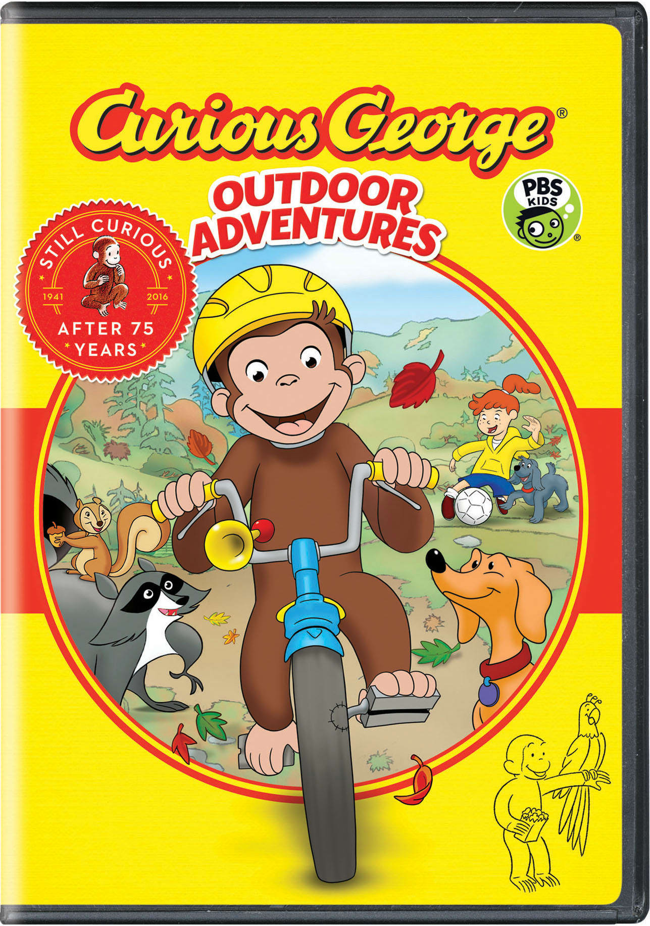 Curious George: Outdoor Adventures [DVD]