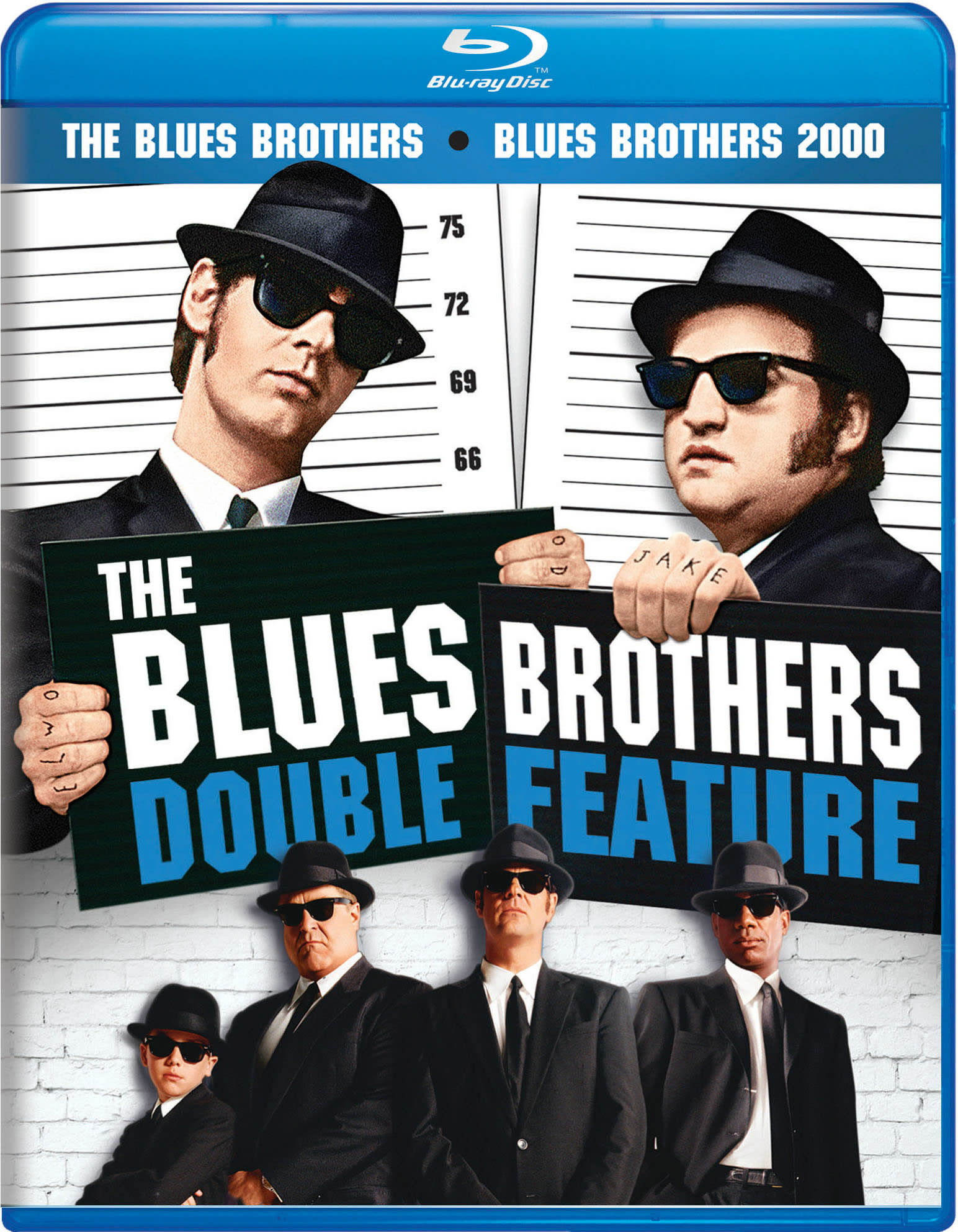 The Blues Brothers/Blues Brothers 2000 [Blu-ray]