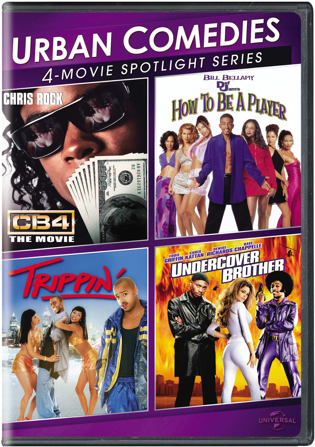 Urban Comedies 4-Movie Spotlight Collection [DVD]