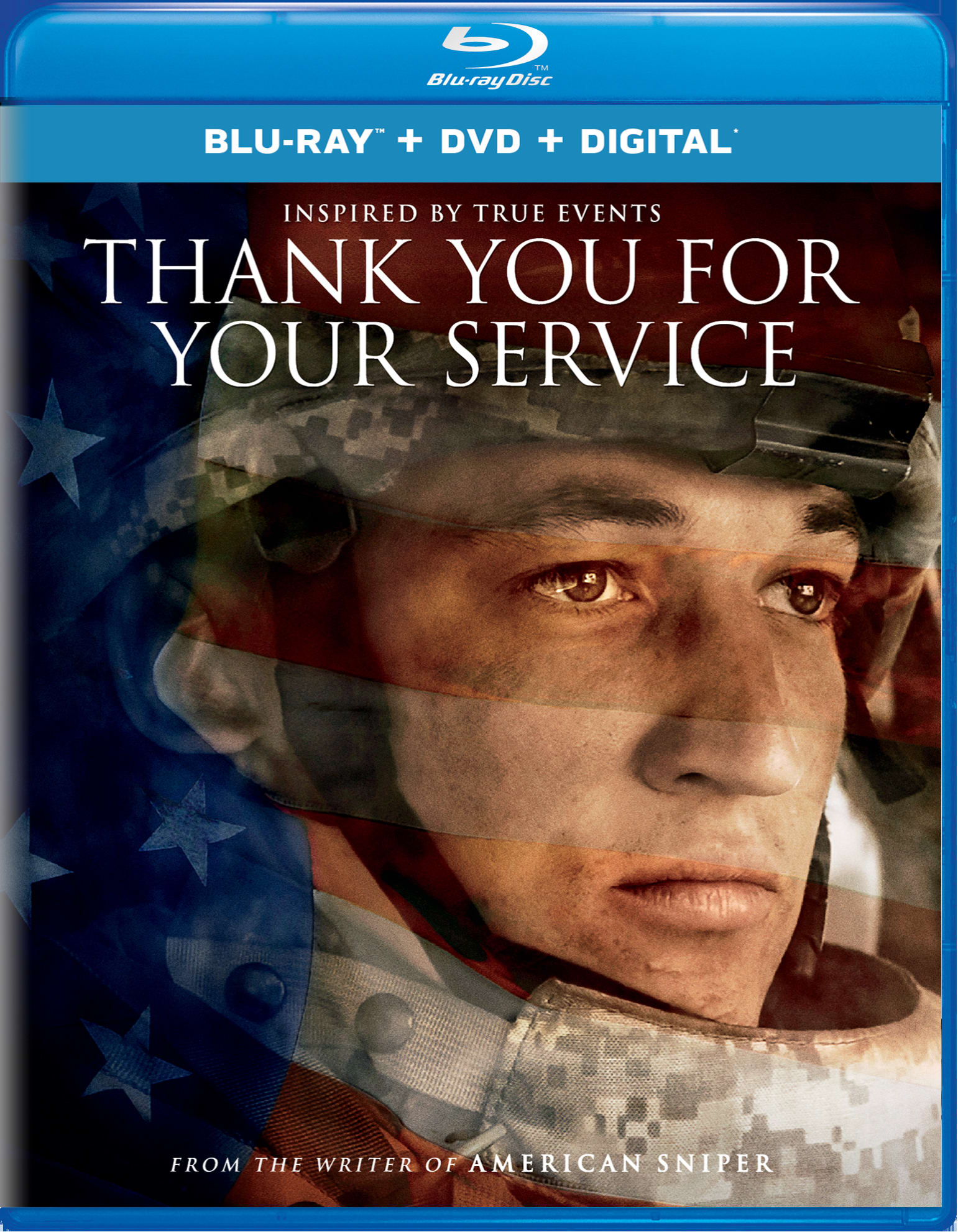 Thank You for Your Service (DVD + Digital) [Blu-ray]