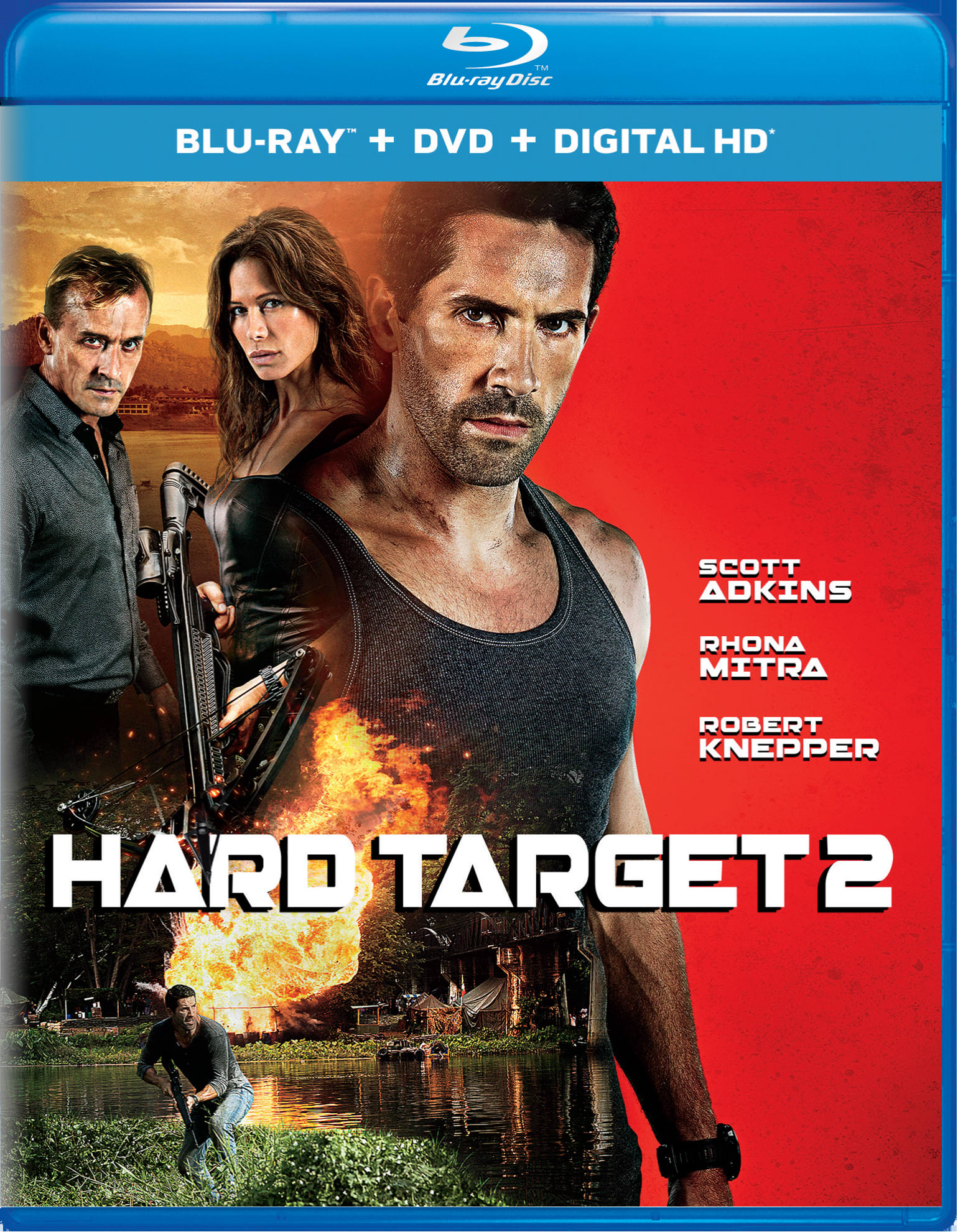Hard Target 2 (DVD + Digital) [Blu-ray]