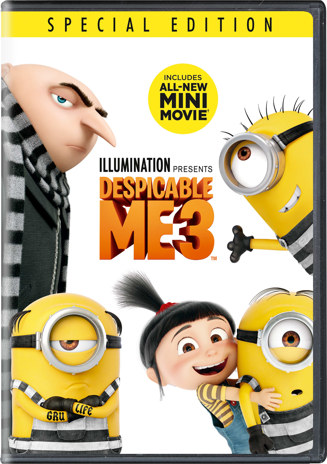 Despicable Me 3 (Special Edition) [DVD]