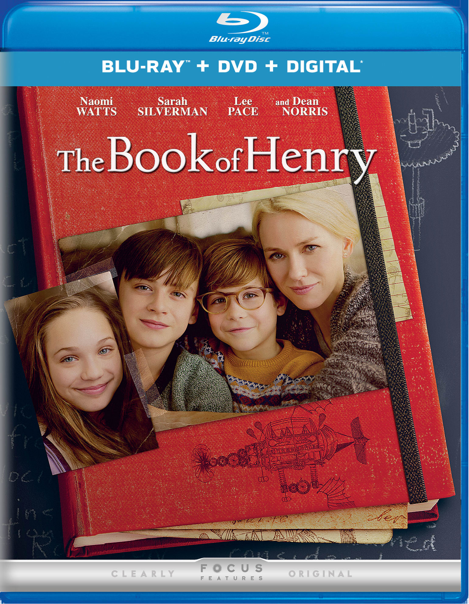 The Book of Henry (DVD + Digital) [Blu-ray]