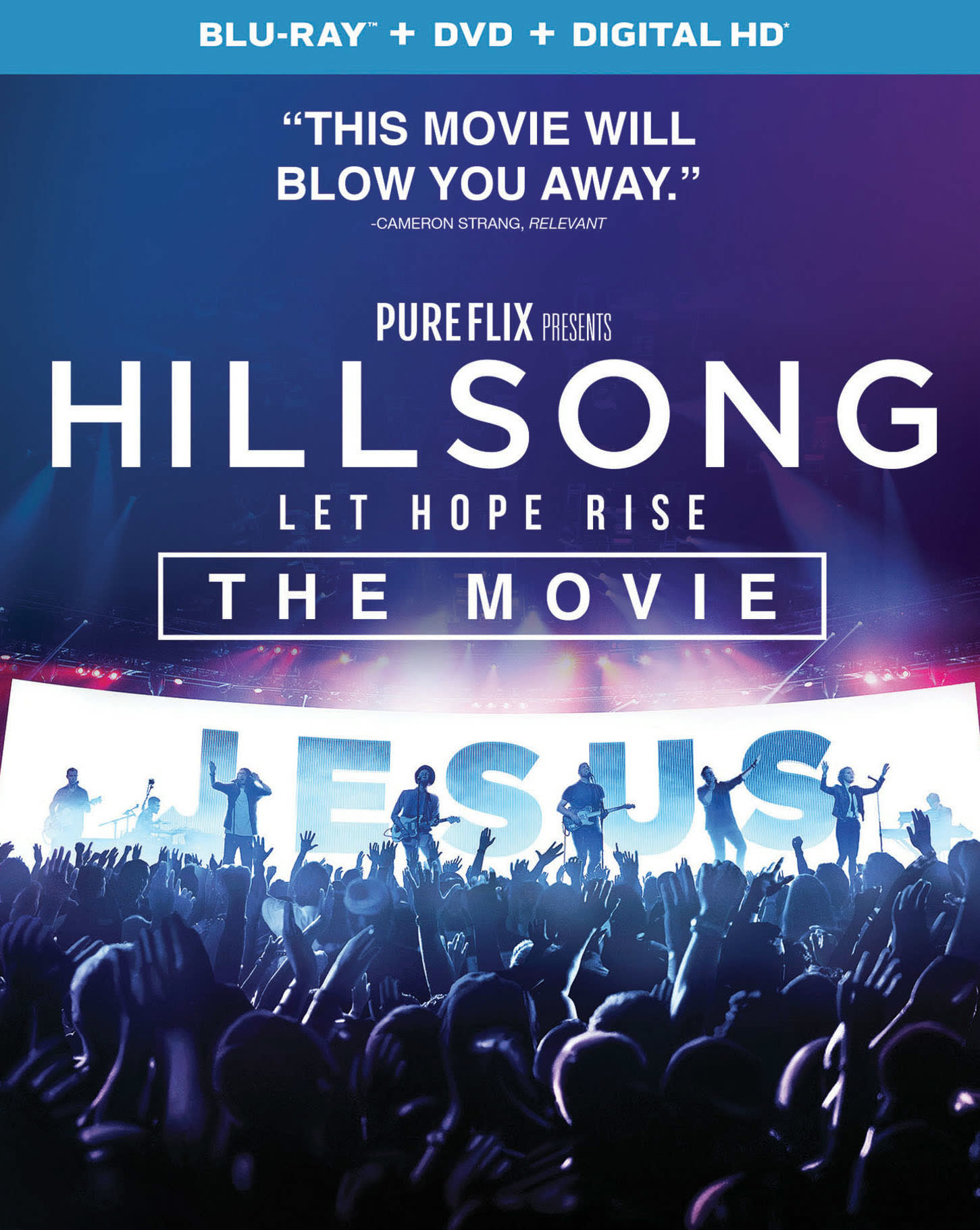 Hillsong: Let Hope Rise (DVD + Digital) [Blu-ray]