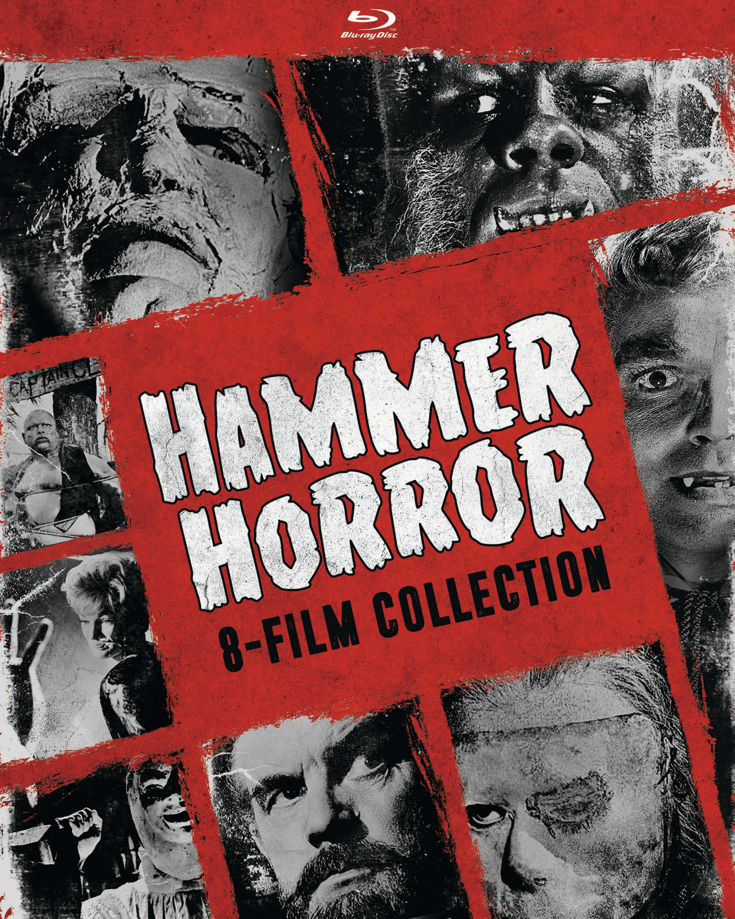 Hammer Horror 8-Film Collection (Box Set) [Blu-ray]