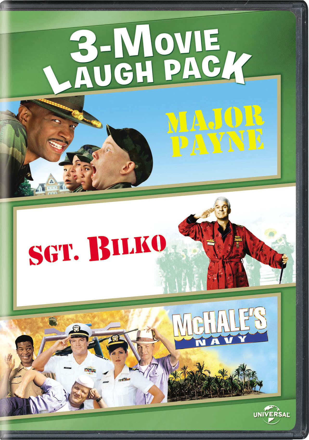 Major Payne/Sgt. Bilko/McHale's Navy [DVD]