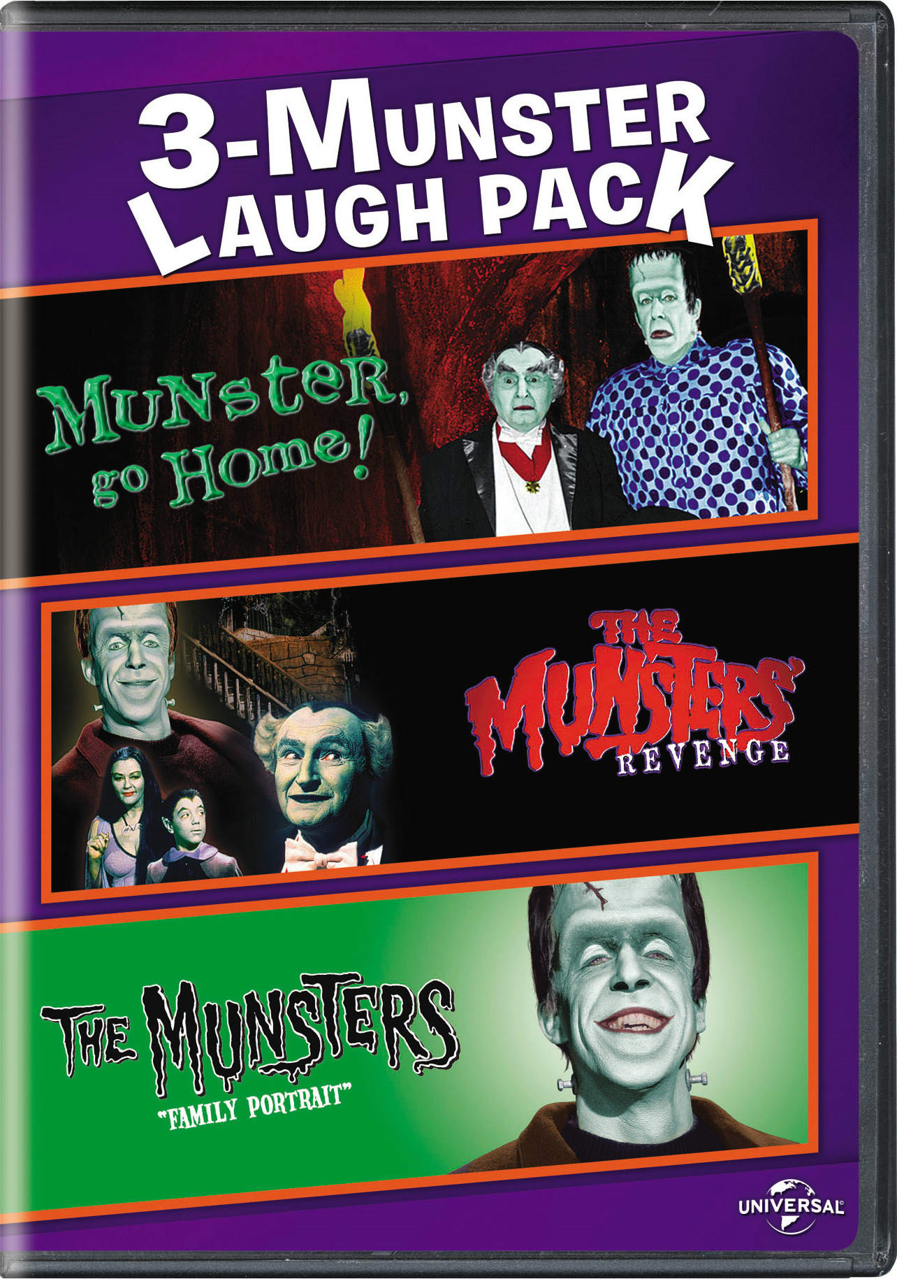 Munster, Go Home!/The Munsters' Revenge/The Munsters:... [DVD]