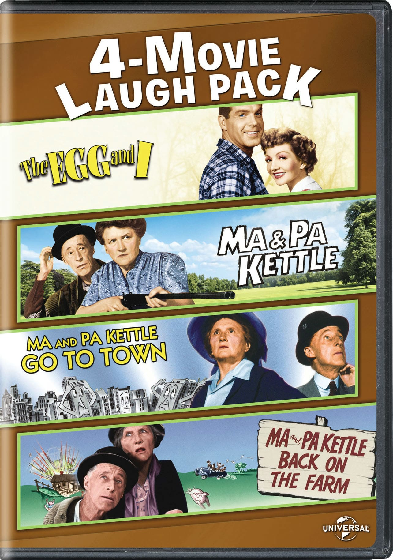 Ma and Pa Kettle collection [DVD]