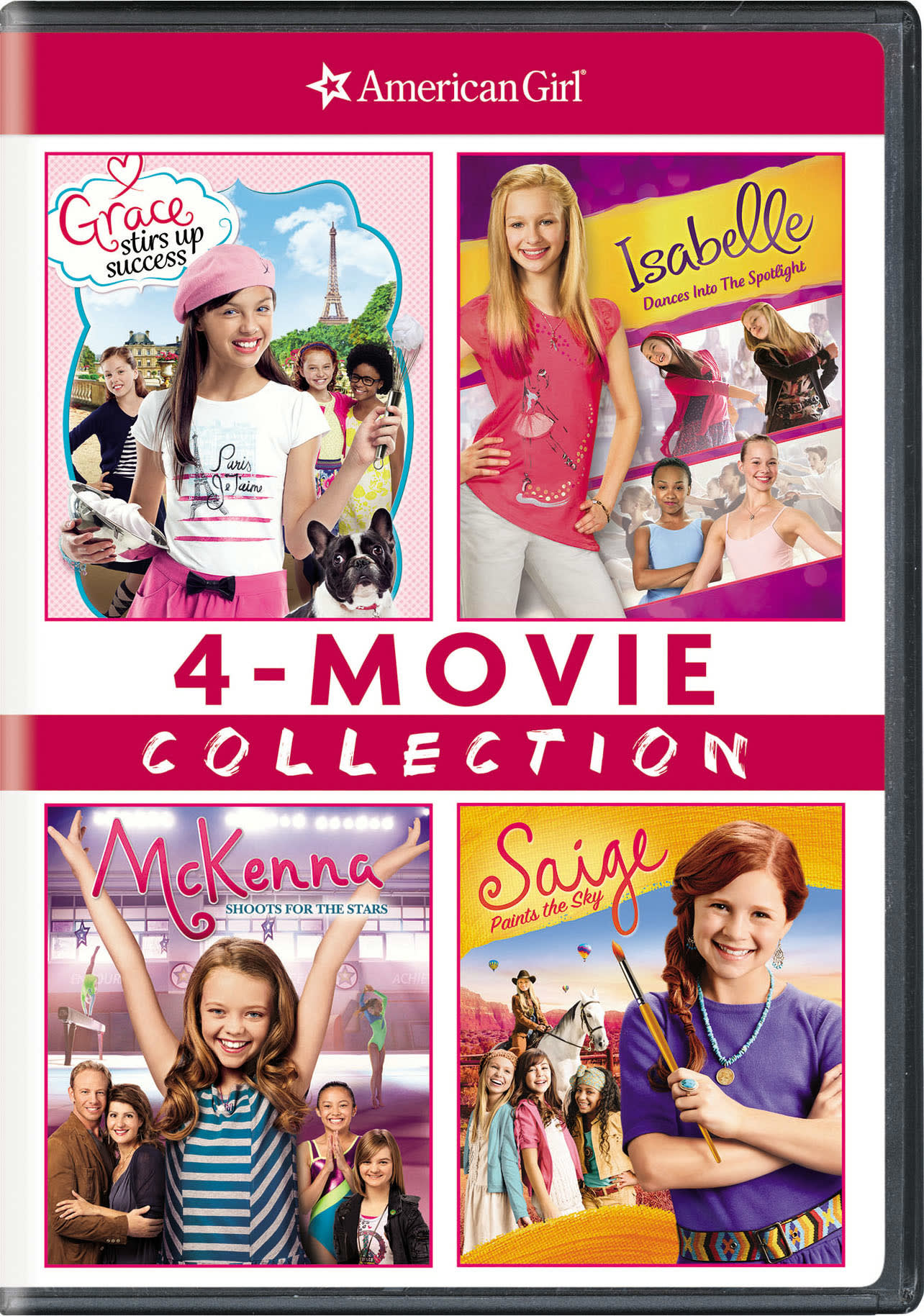American Girl: 4-movie Collection (Box Set) [DVD]
