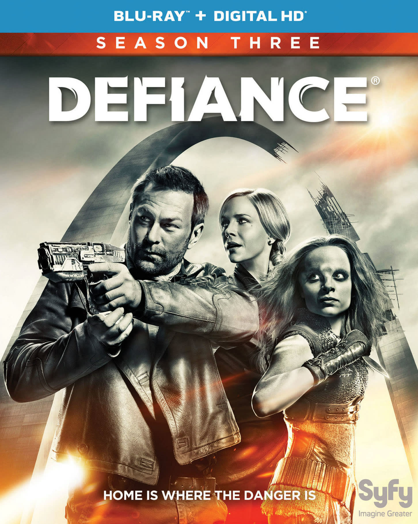 Defiance: Season 3 [Blu-ray]
