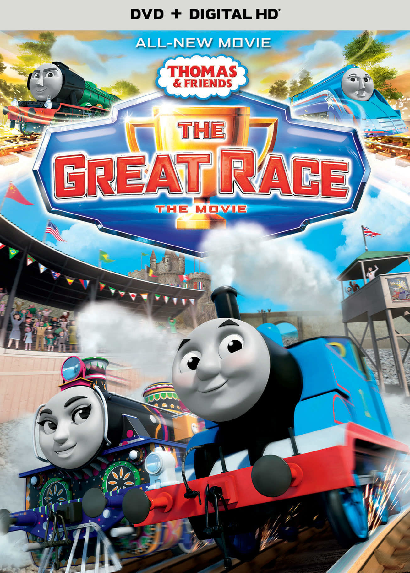 Thomas & Friends: The Great Race - The Movie [DVD]