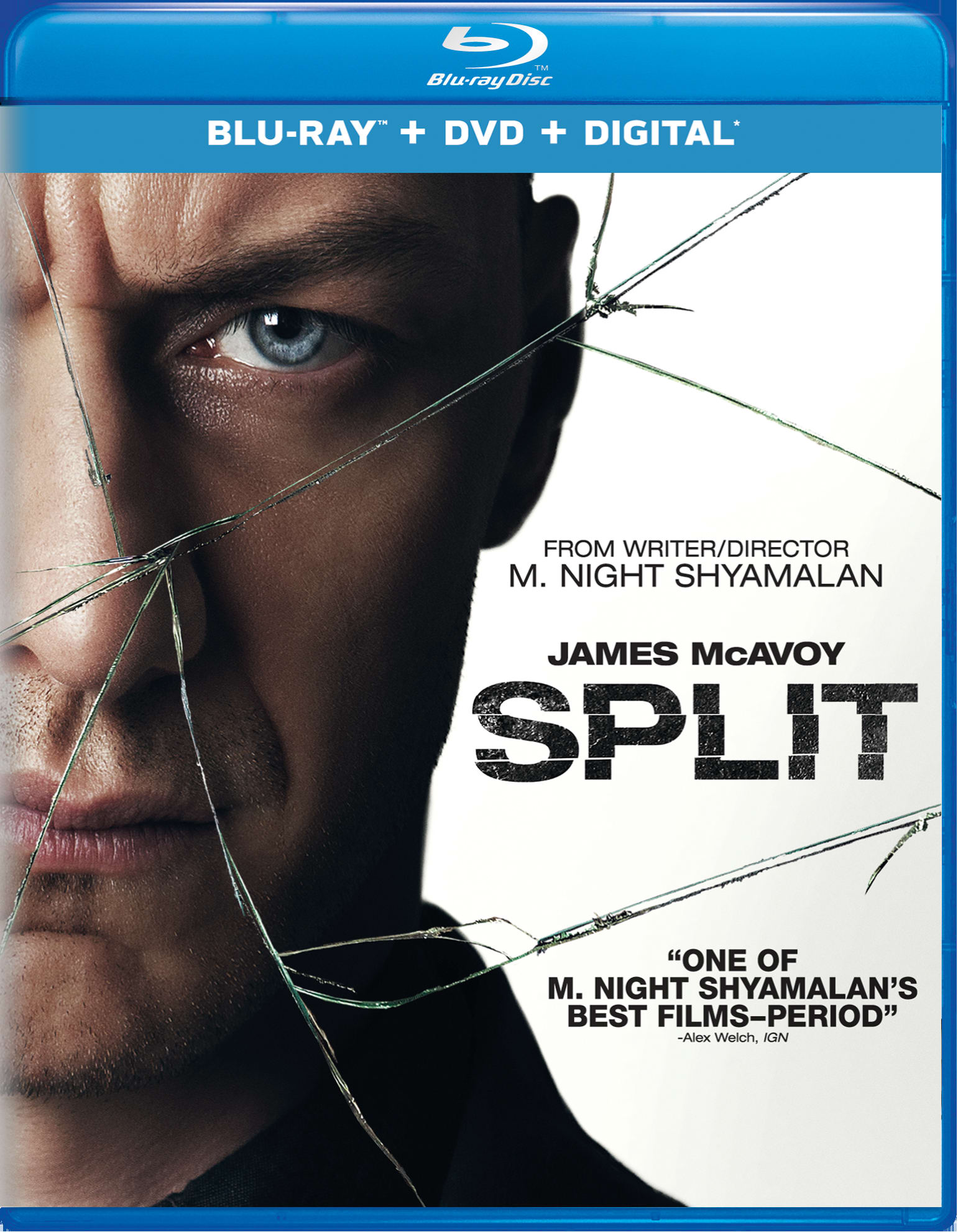 Split (DVD + Digital) [Blu-ray]