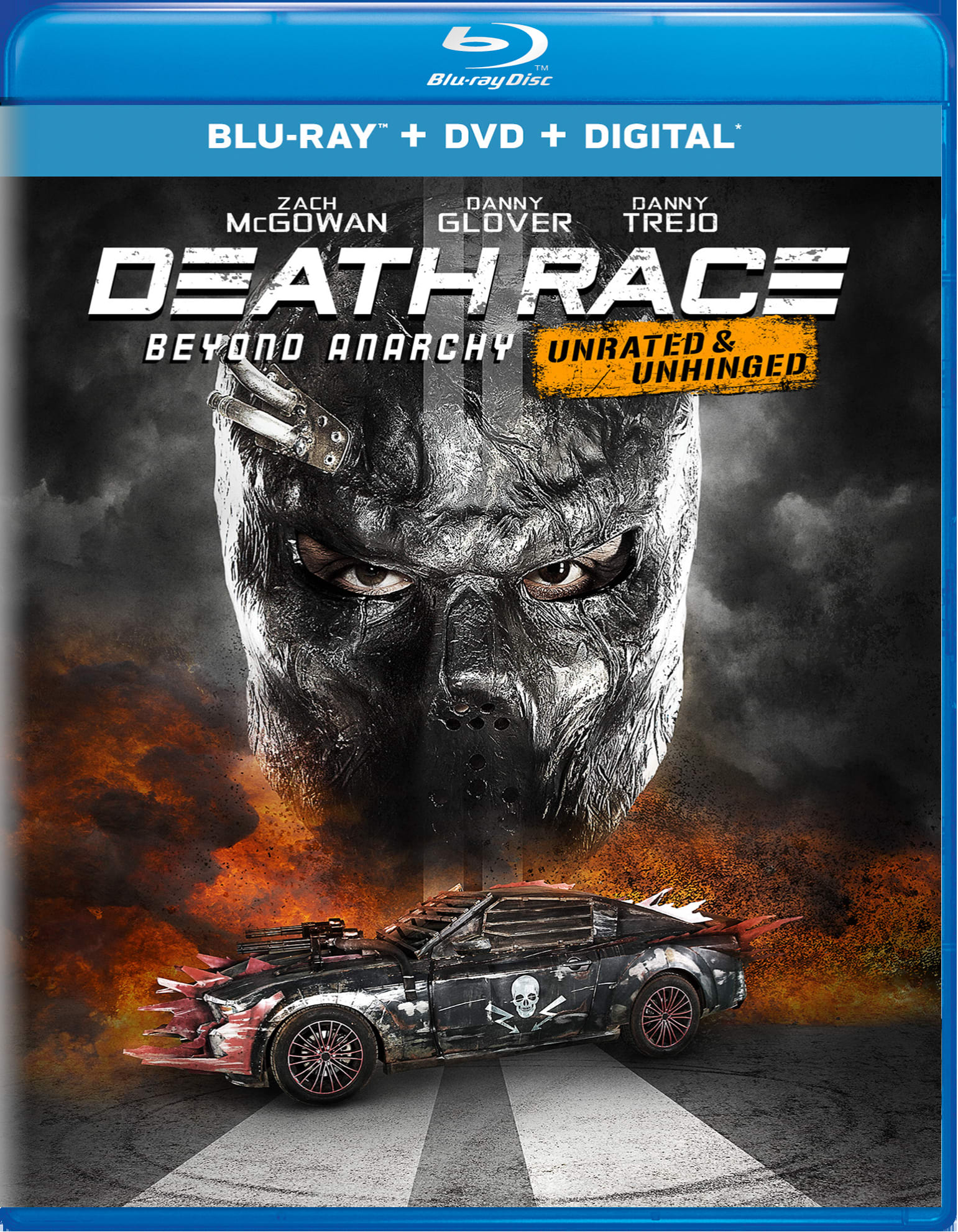 Death Race: Beyond Anarchy (Unrated & Unhinged DVD + Digital) [Blu-ray]
