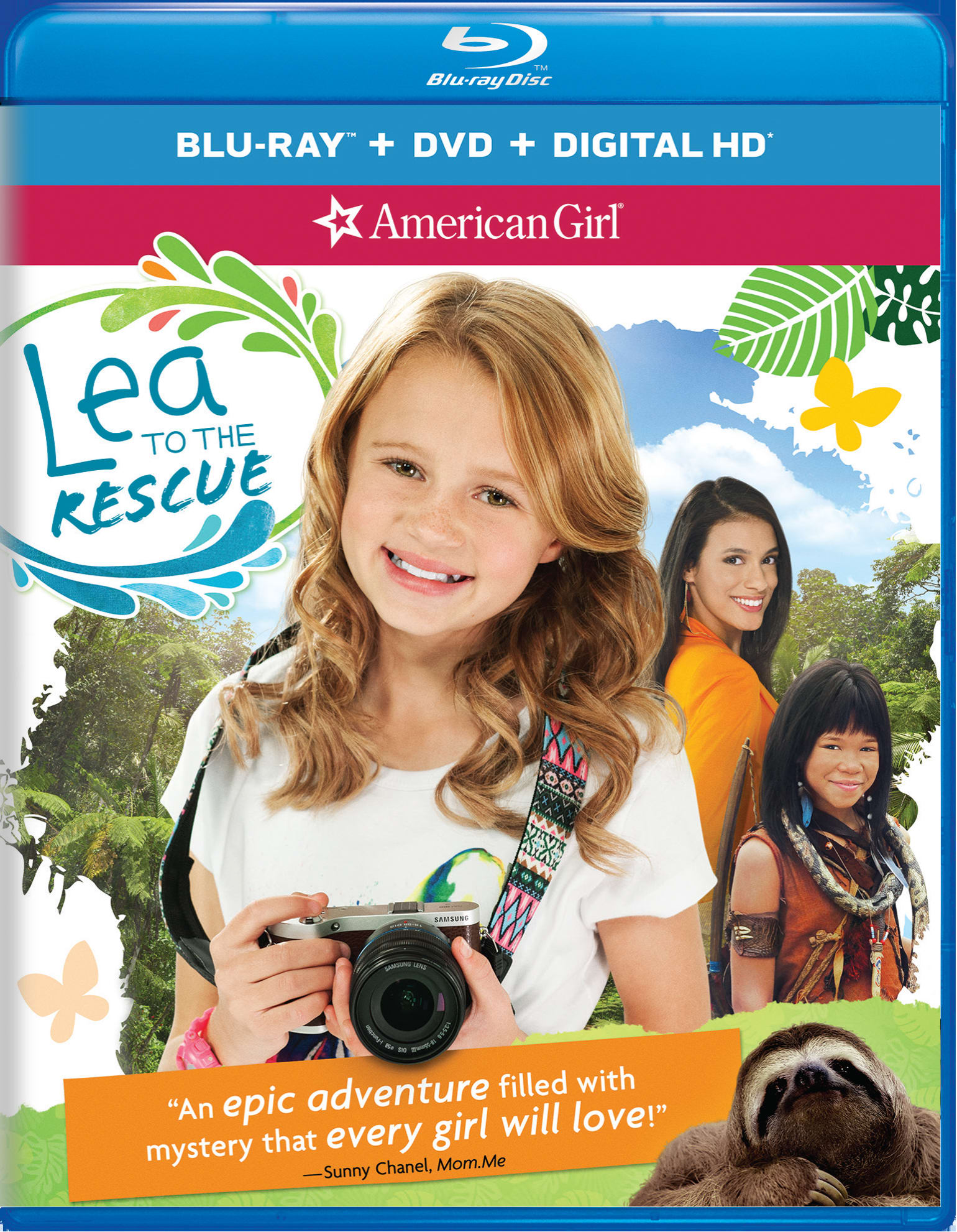 American Girl: Lea to the Rescue (DVD + Digital) [Blu-ray]