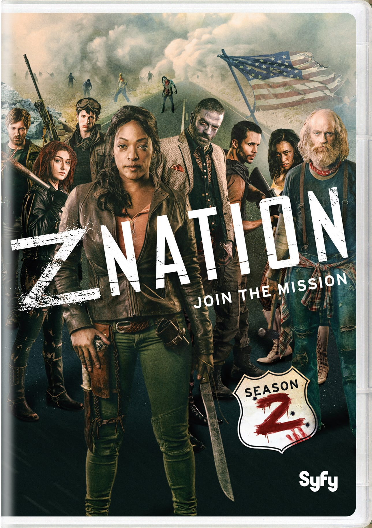 Z Nation: Season Two [DVD]