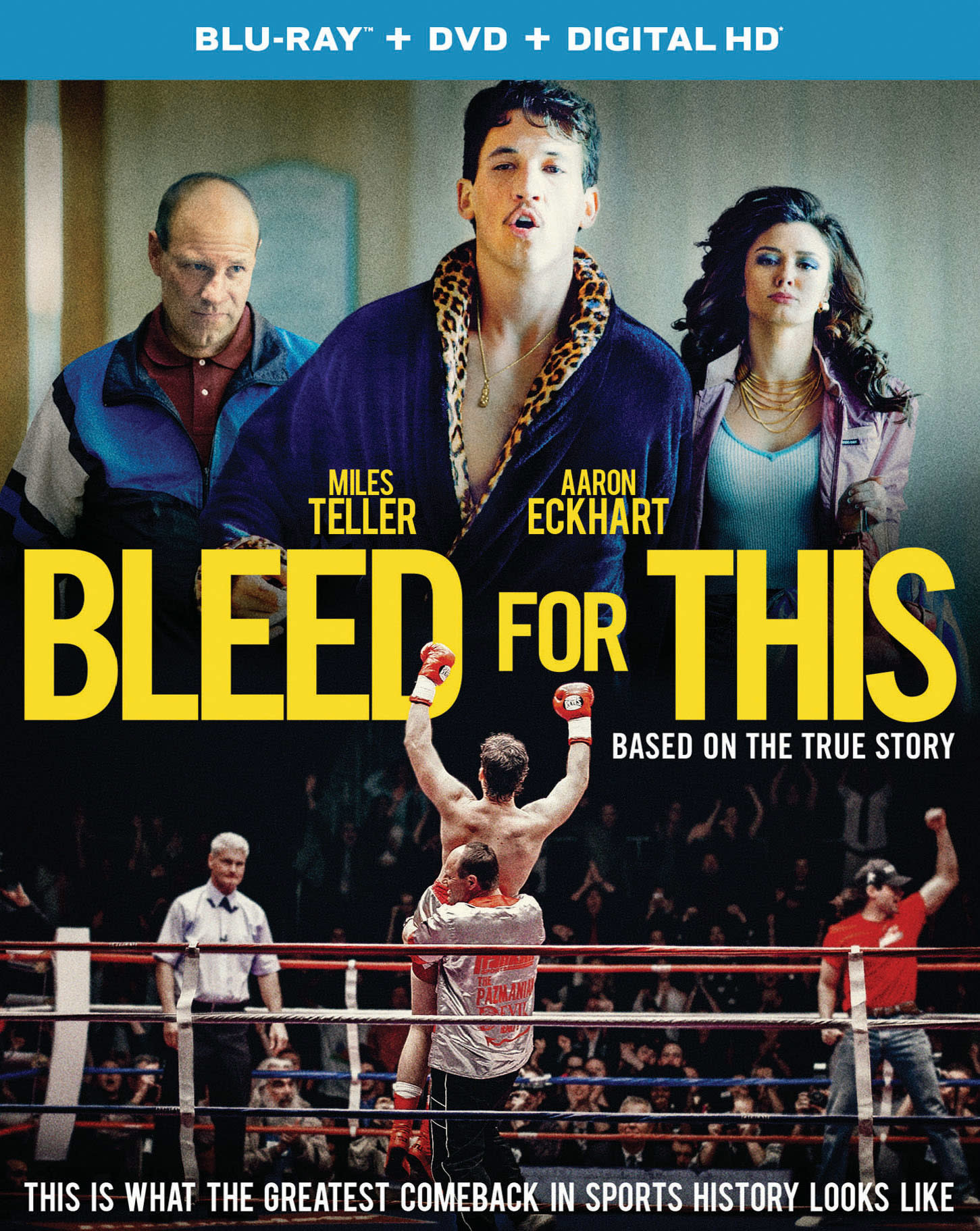 Bleed for This (DVD + Digital) [Blu-ray]